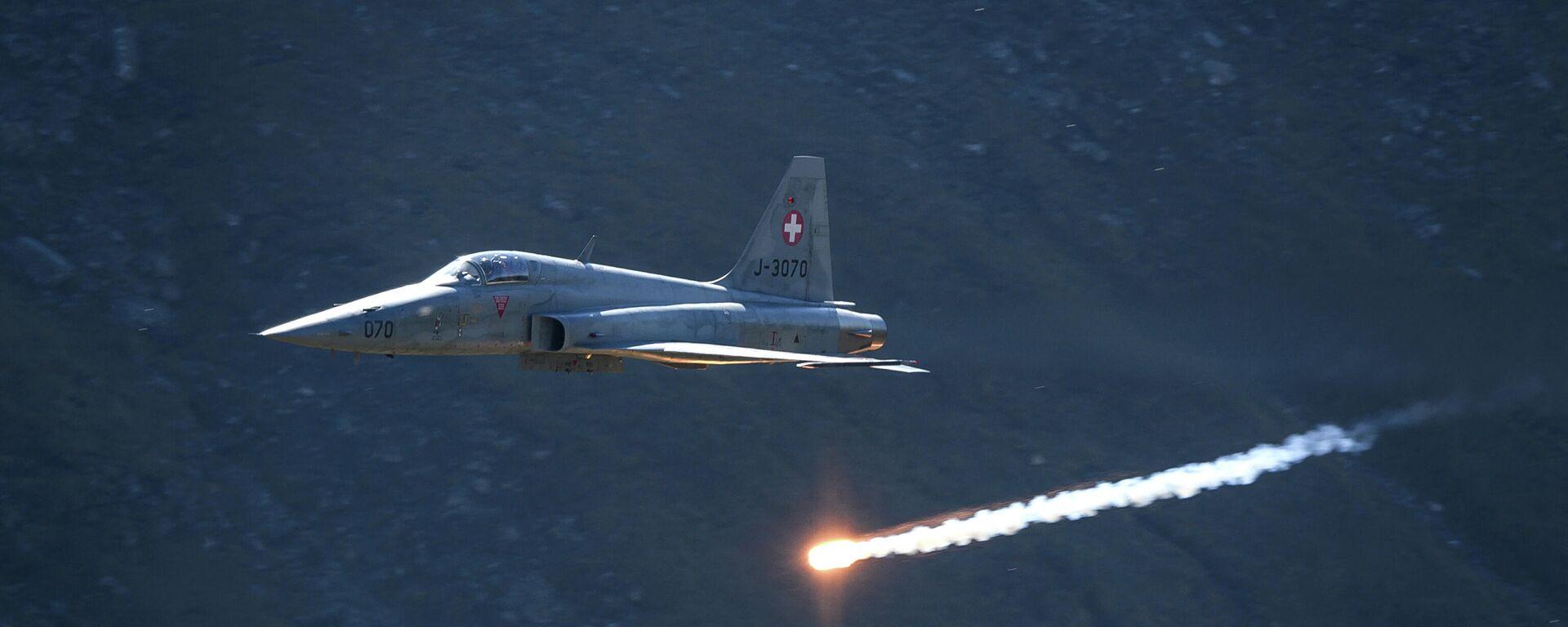 Μαχητικό αεροσκάφος F-5 Tiger - Sputnik Ελλάδα, 1920, 12.06.2021