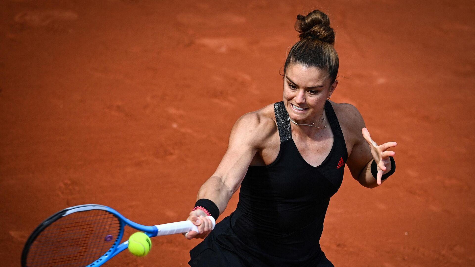 Η Μαρία Σάκκαρη στο Roland Garros το 2021 - Sputnik Ελλάδα, 1920, 26.09.2021