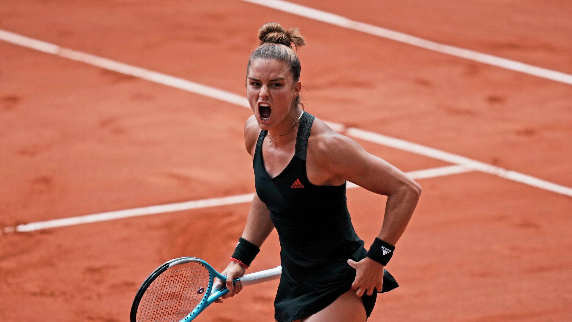 Η Μαρία Σάκκαρη στο Roland Garros - Sputnik Ελλάδα, 1920, 26.07.2021