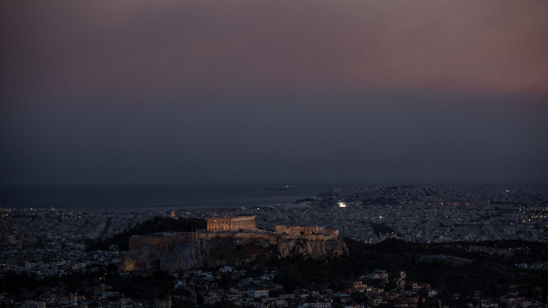 Κορονοϊός στην Αθήνα - Sputnik Ελλάδα, 1920, 27.07.2021