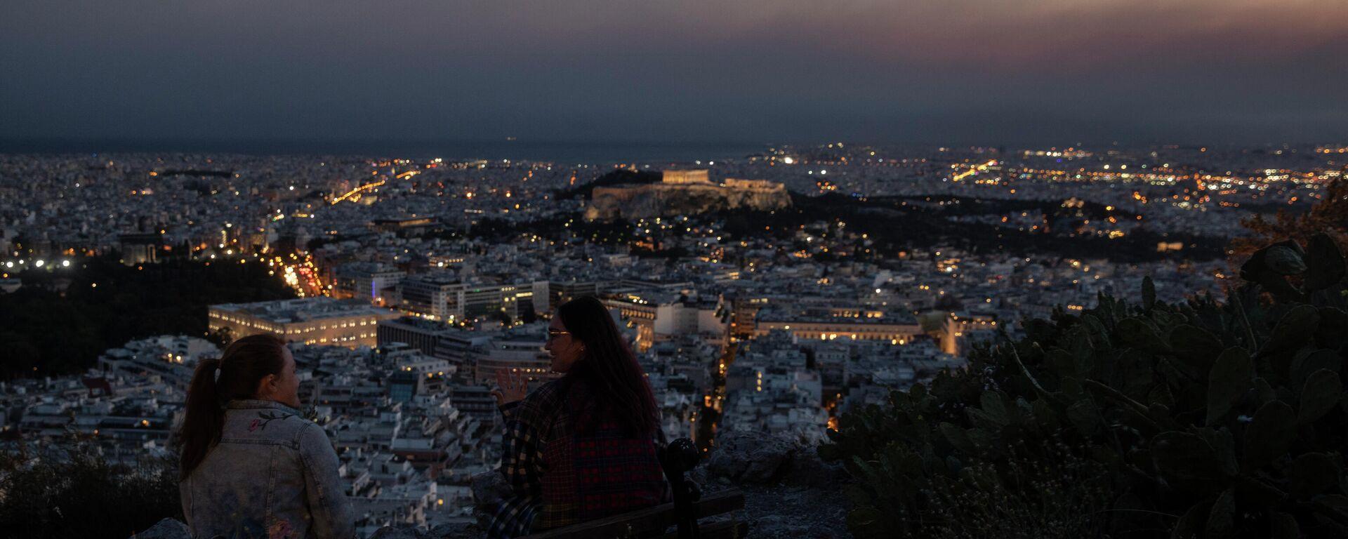 Κορονοϊός στην Αθήνα - Sputnik Ελλάδα, 1920, 17.08.2021