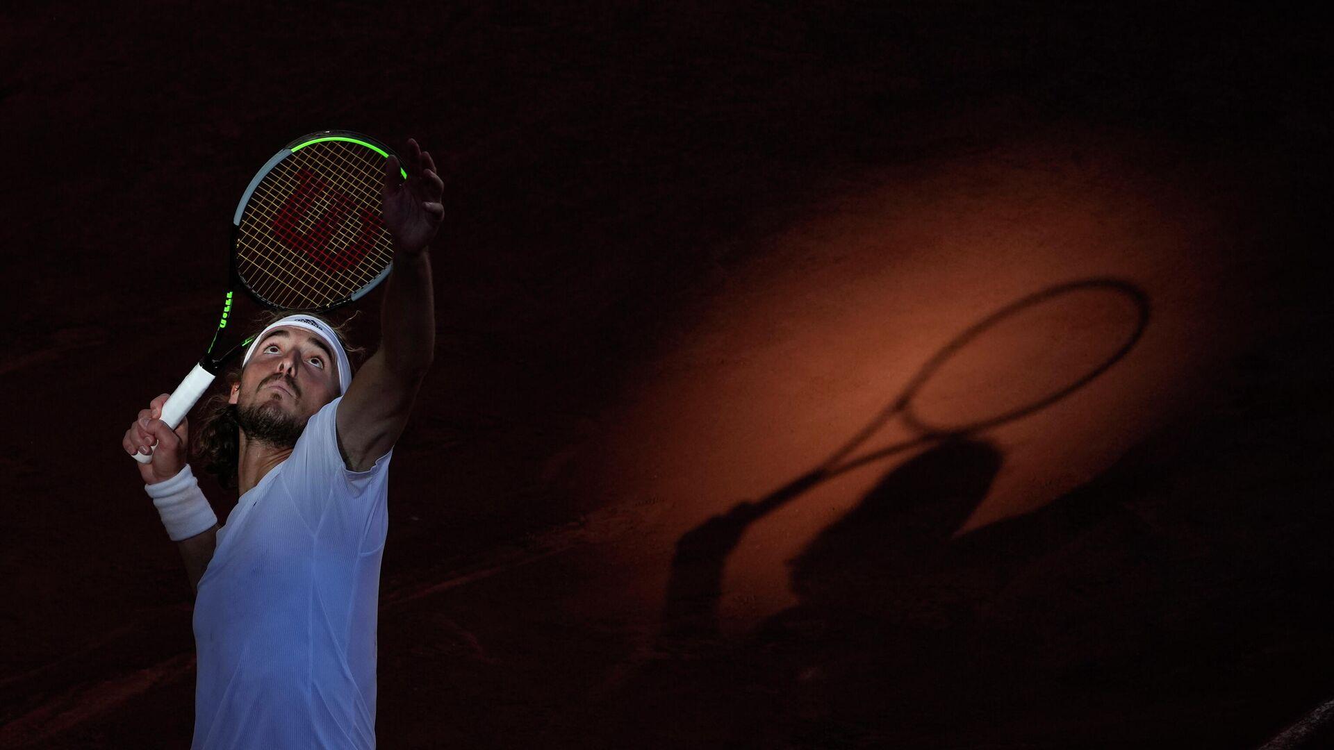 Ο Στέφανος Τσιτσιπάς στο Roland Garros - Sputnik Ελλάδα, 1920, 27.07.2021