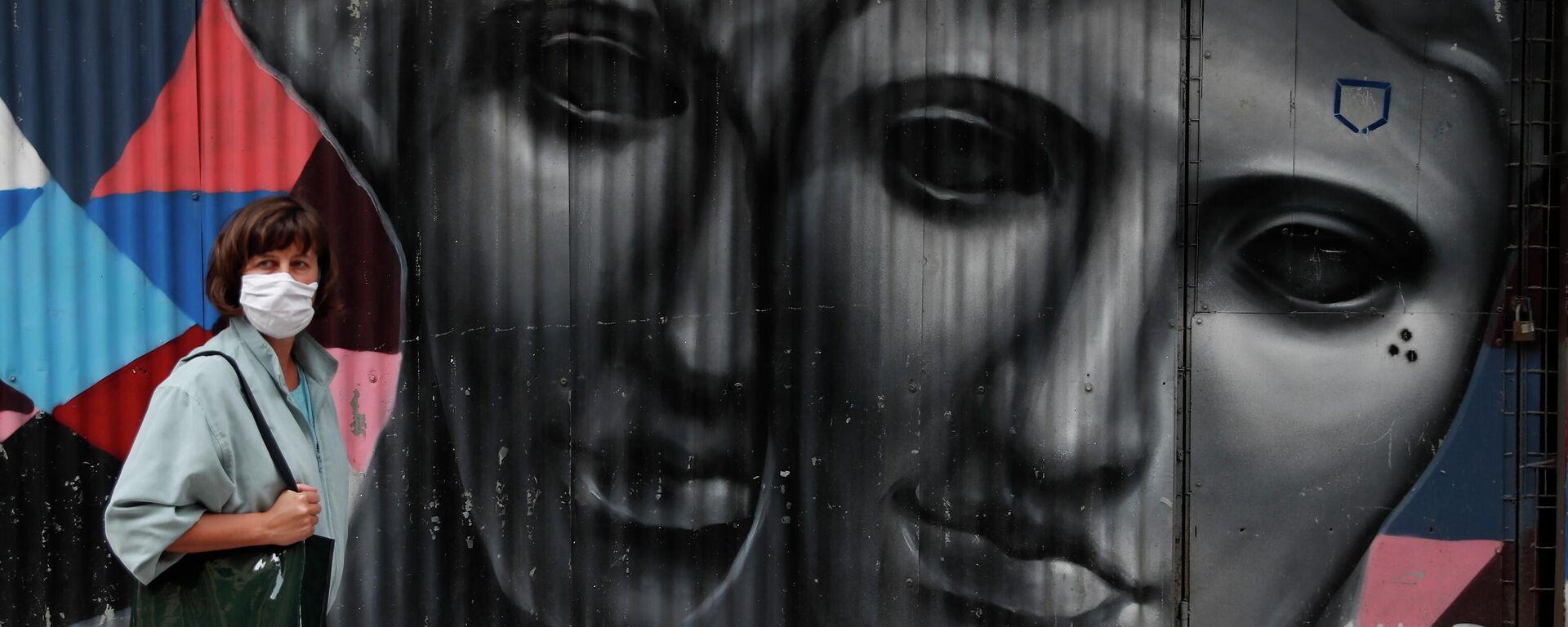 Κορονοϊός στην Αθήνα - Sputnik Ελλάδα, 1920, 03.10.2021