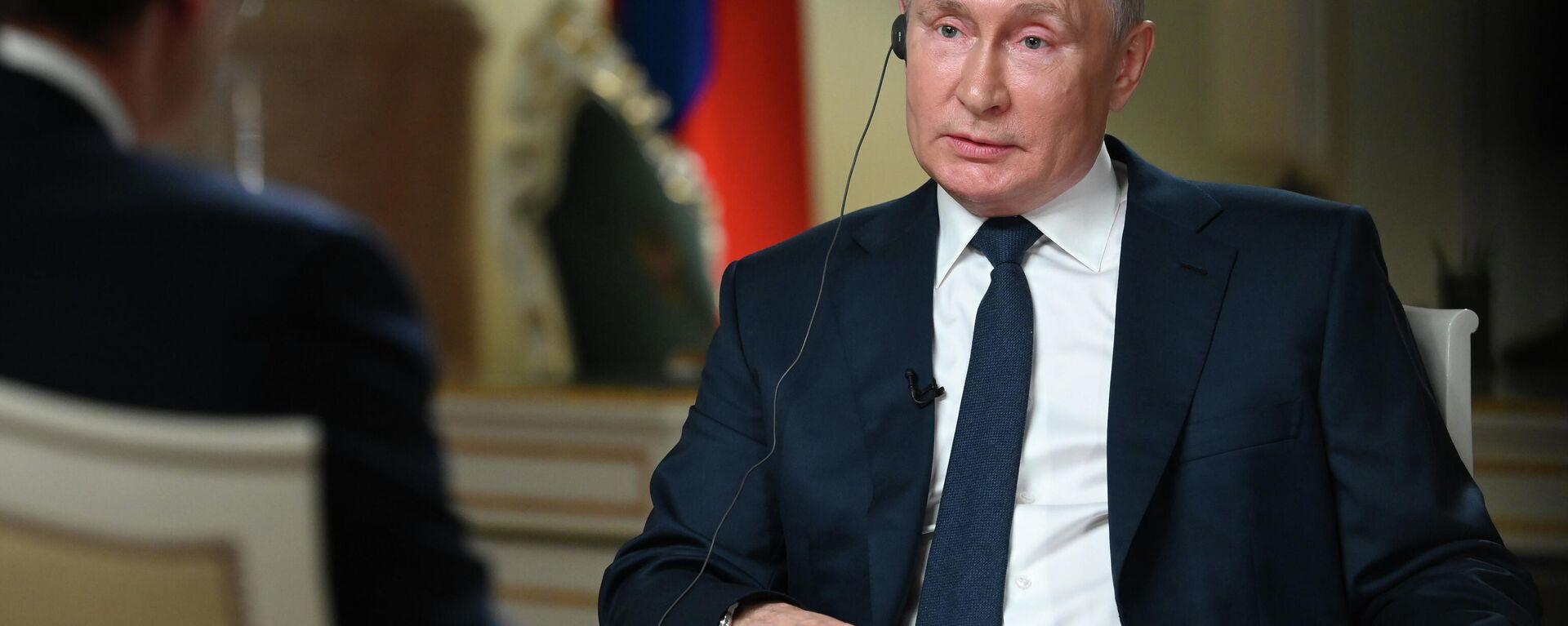 Πούτιν, συνέντευξη - Sputnik Ελλάδα, 1920, 06.10.2021