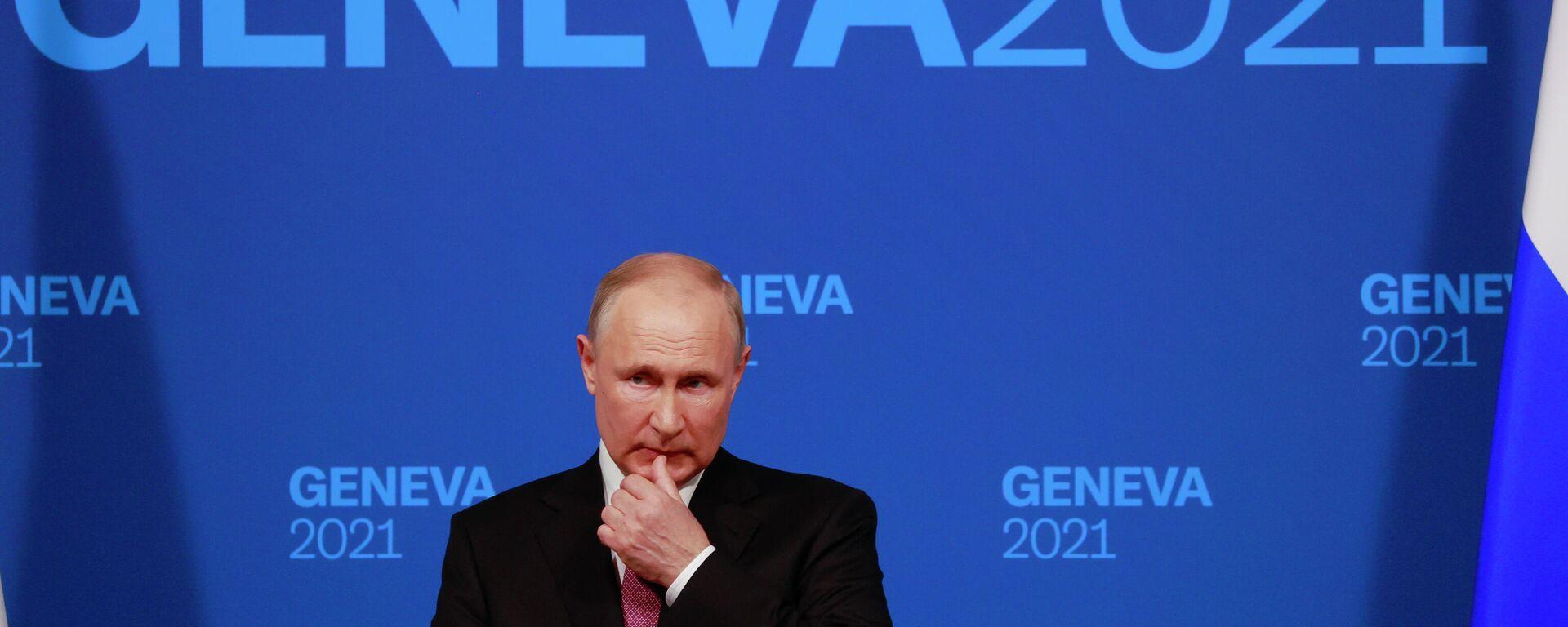 Συνέντευξη Τύπου του Πούτιν μετά τη συνάντηση με τον Μπάιντεν - Sputnik Ελλάδα, 1920, 15.09.2021