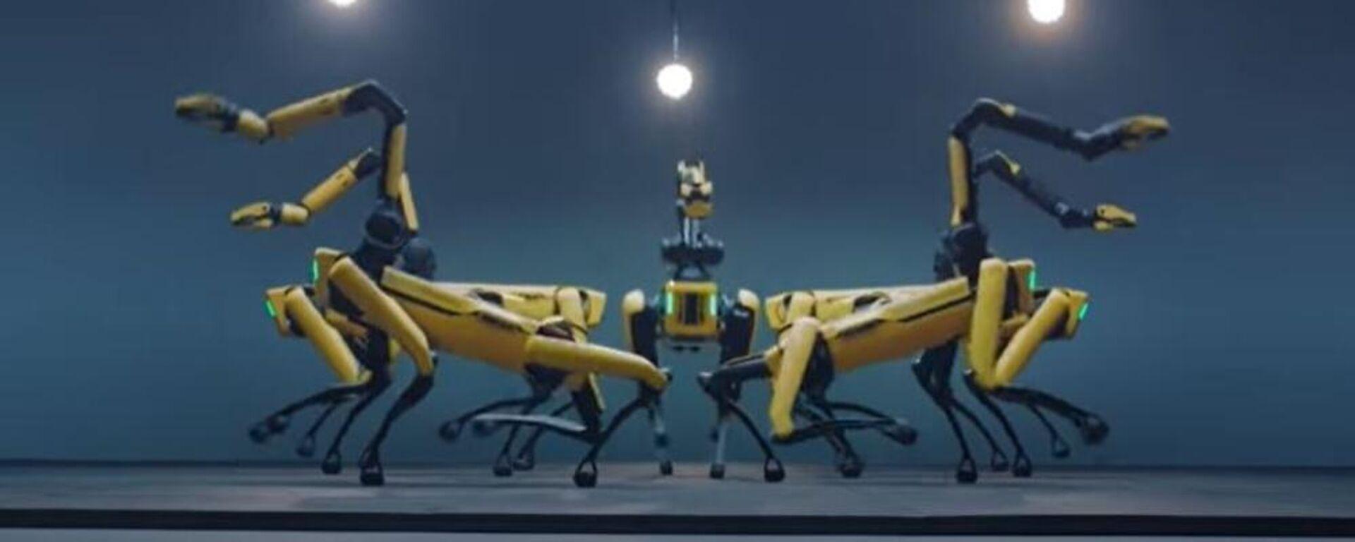 Σκυλο-ρομπότ της Boston Dynamics χορεύουν στον ρυθμό του boy band BTS - Sputnik Ελλάδα, 1920, 01.07.2021