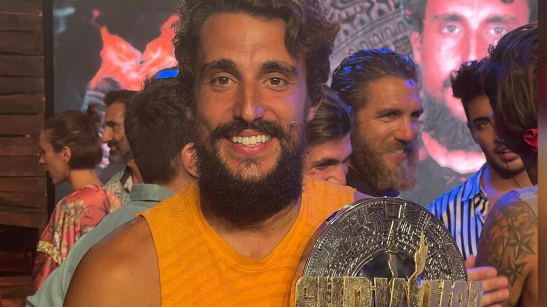 Ο νικητής του Survivor (ΣΚΑΪ), Σάκης Κατσούλης  - Sputnik Ελλάδα, 1920, 15.09.2021