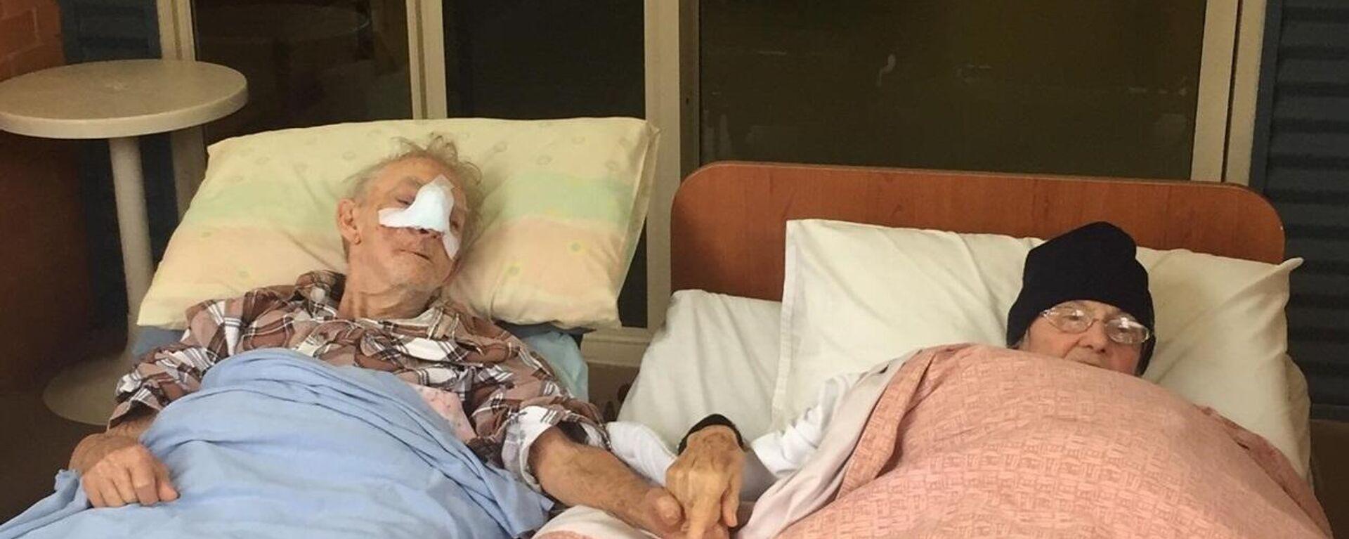 Η τελευταία επιθυμία ετοιμοθάνατου ηλικιωμένου να δει τη γυναίκα του - Sputnik Ελλάδα, 1920, 06.07.2021