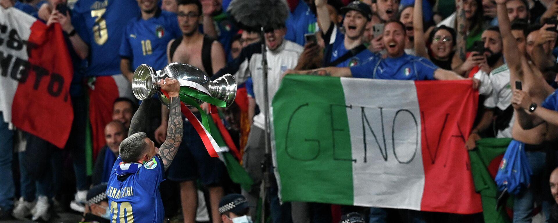 Οπαδοί της Ιταλίας στον τελικό του EURO - Sputnik Ελλάδα, 1920, 15.09.2021
