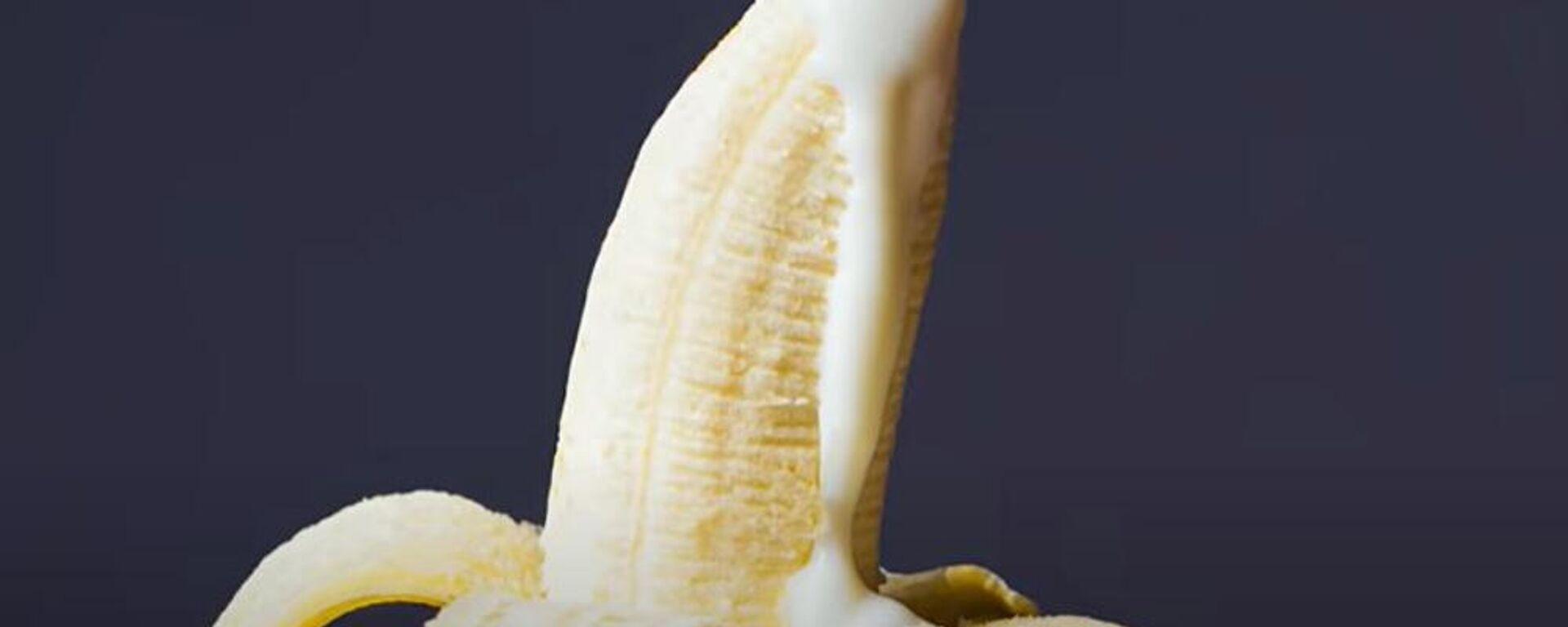 Μια μπανάνα (φωτ. αρχείου) - Sputnik Ελλάδα, 1920, 07.09.2021