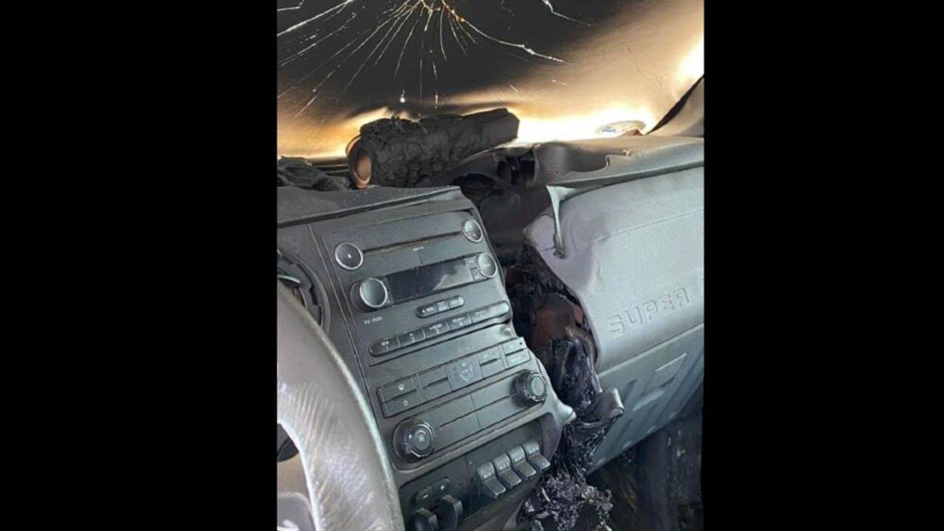 Κεραυνός χτυπά αμάξι και λιώνει το ταμπλό - Sputnik Ελλάδα, 1920, 25.07.2021