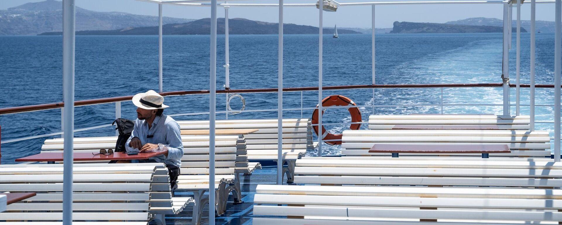 Ταξίδι με πλοίο - Sputnik Ελλάδα, 1920, 24.08.2021