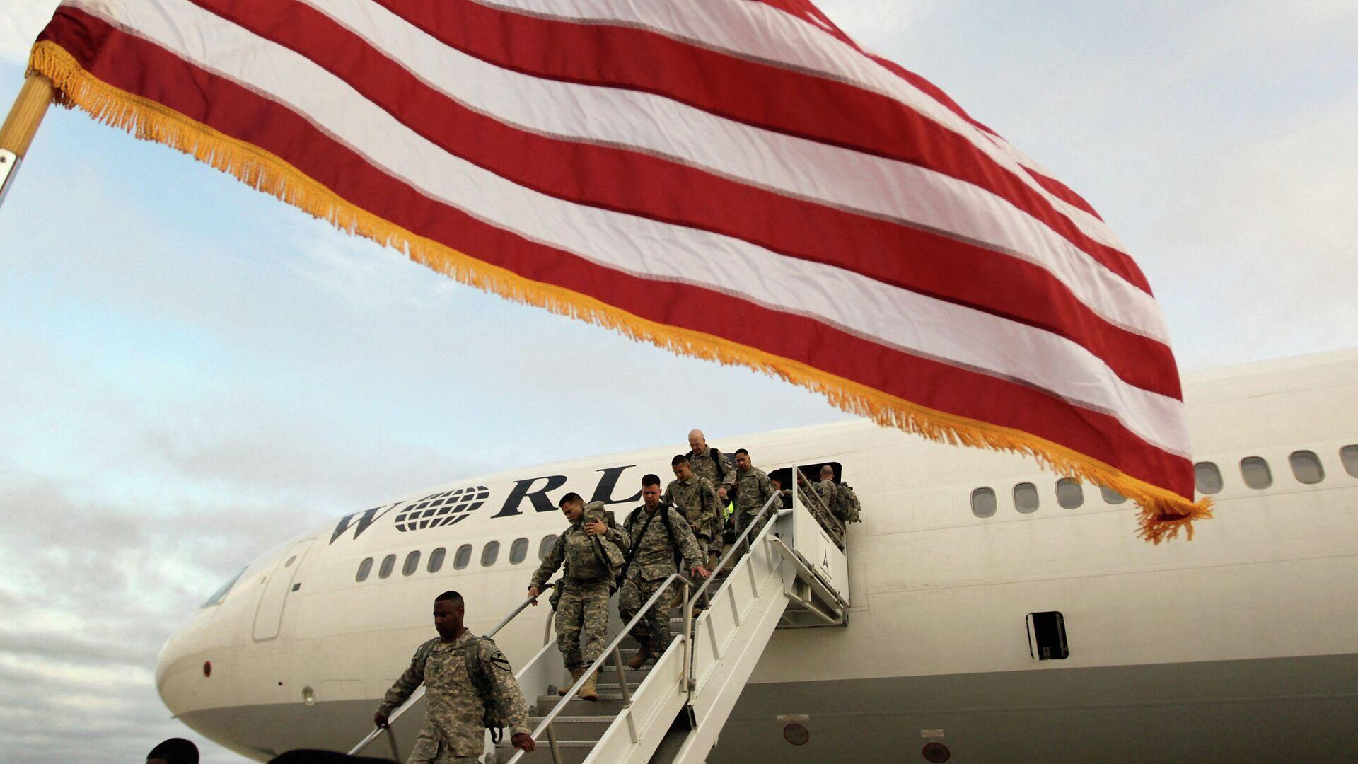 Αμερικανοί στρατιώτες επιστρέφουν από το Ιράκ - Sputnik Ελλάδα, 1920, 29.07.2021