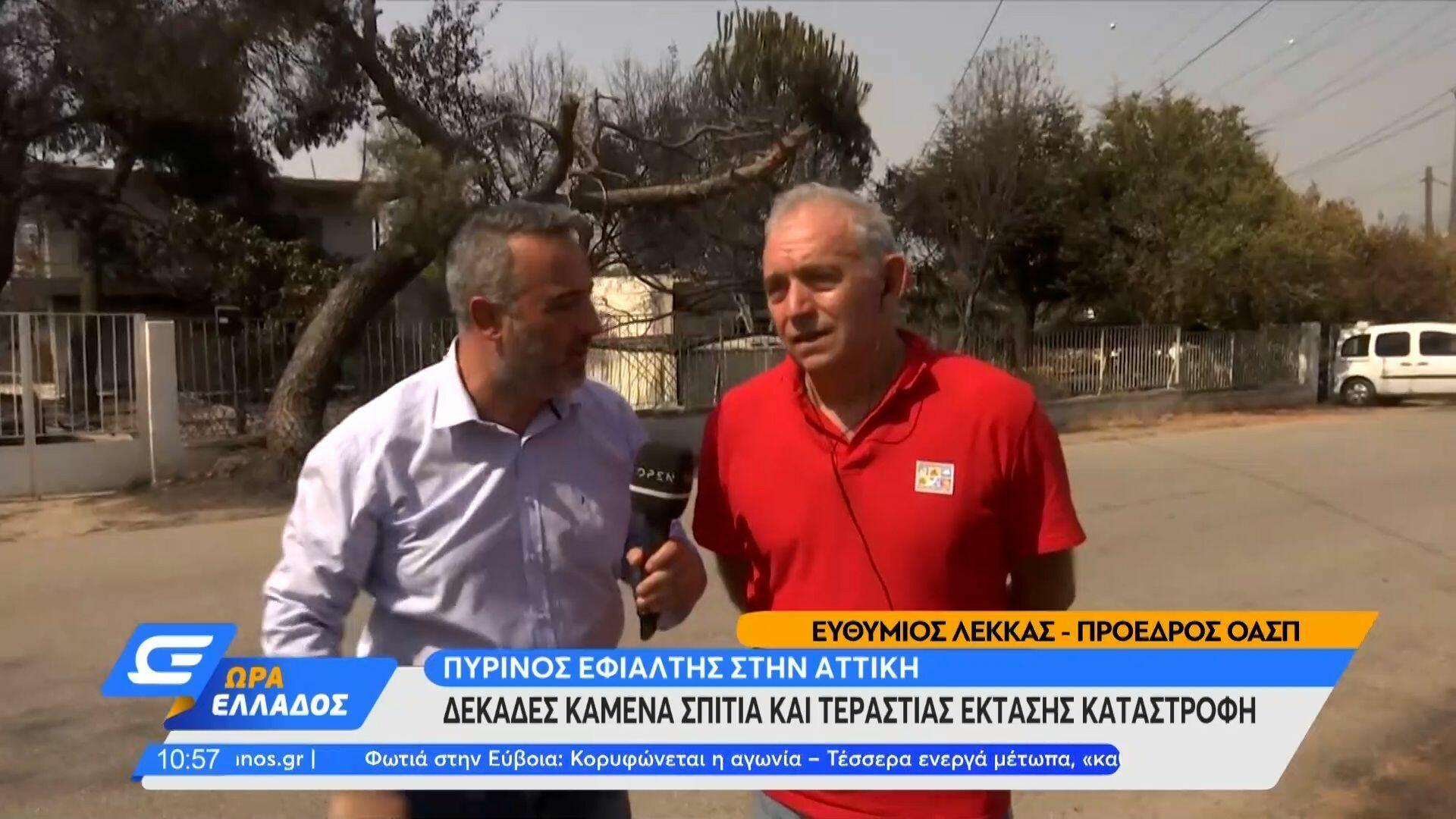 Οργή Λέκκα στον αέρα εκπομπής - Sputnik Ελλάδα, 1920, 04.08.2021