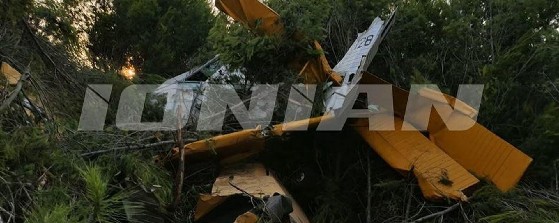 Αναγκαστική προσγείωση πυροσβεστικού αεροσκάφους - Sputnik Ελλάδα, 1920, 08.08.2021