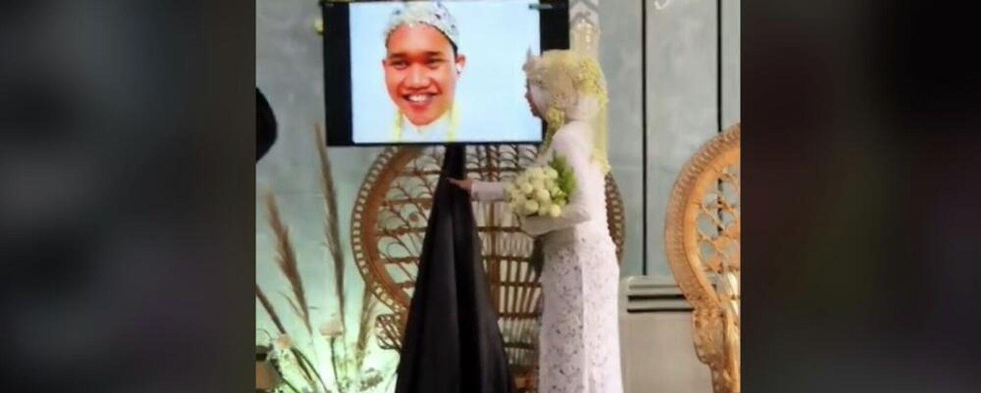 Γαμπρός στην Ινδονησία κόλλησε κορονοϊό κι έκαναν τον γάμο χωρίς αυτόν  - Sputnik Ελλάδα, 1920, 11.08.2021