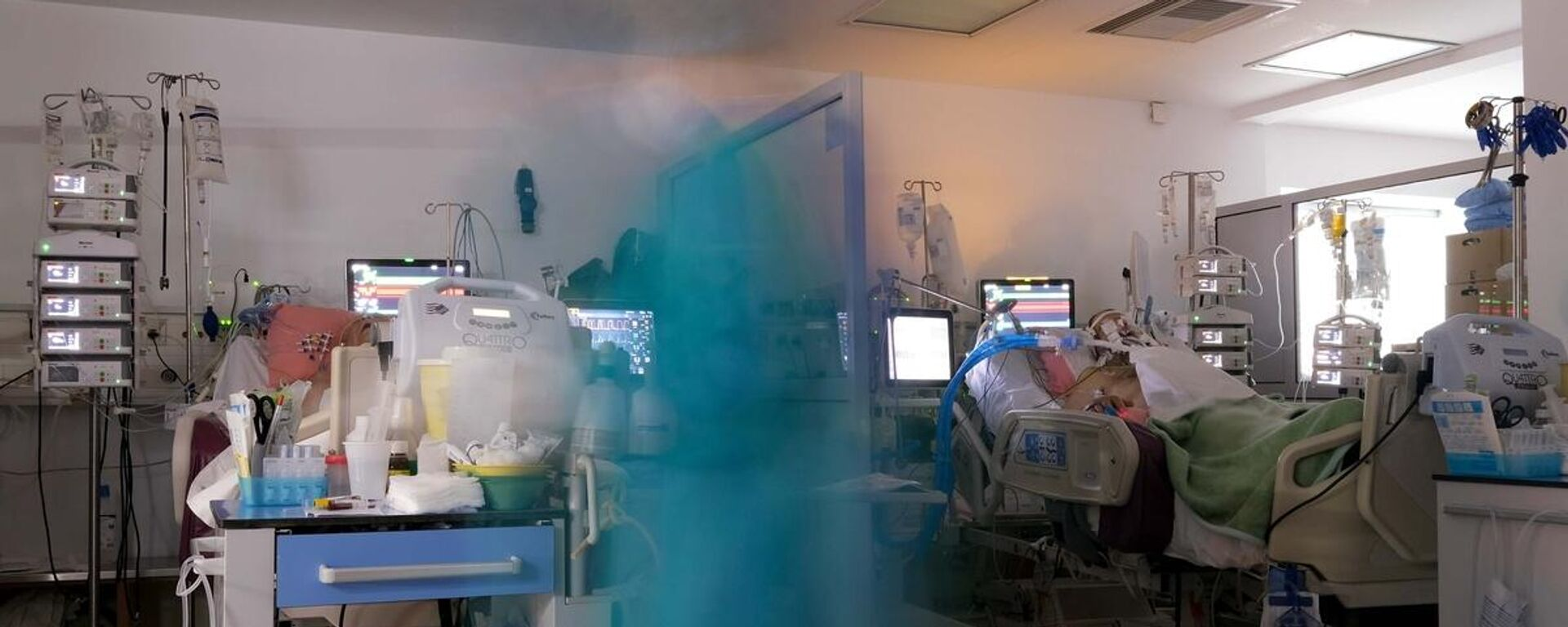 ΜΕΘ στο Νοσοκομείο Θωρακικών Νοσημάτων της Αθήνας - Sputnik Ελλάδα, 1920, 17.09.2021