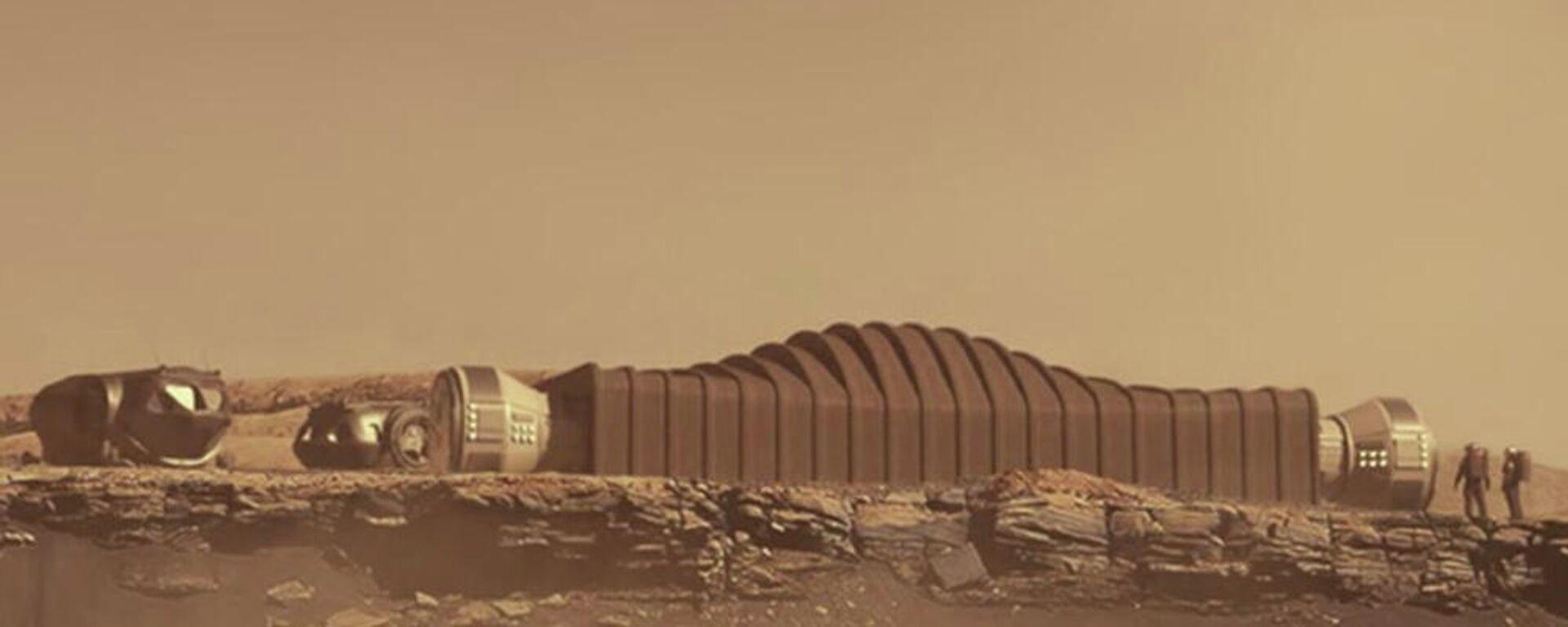 Η διαστημική βάση Mars Dune Alpha της NASA - Sputnik Ελλάδα, 1920, 14.08.2021