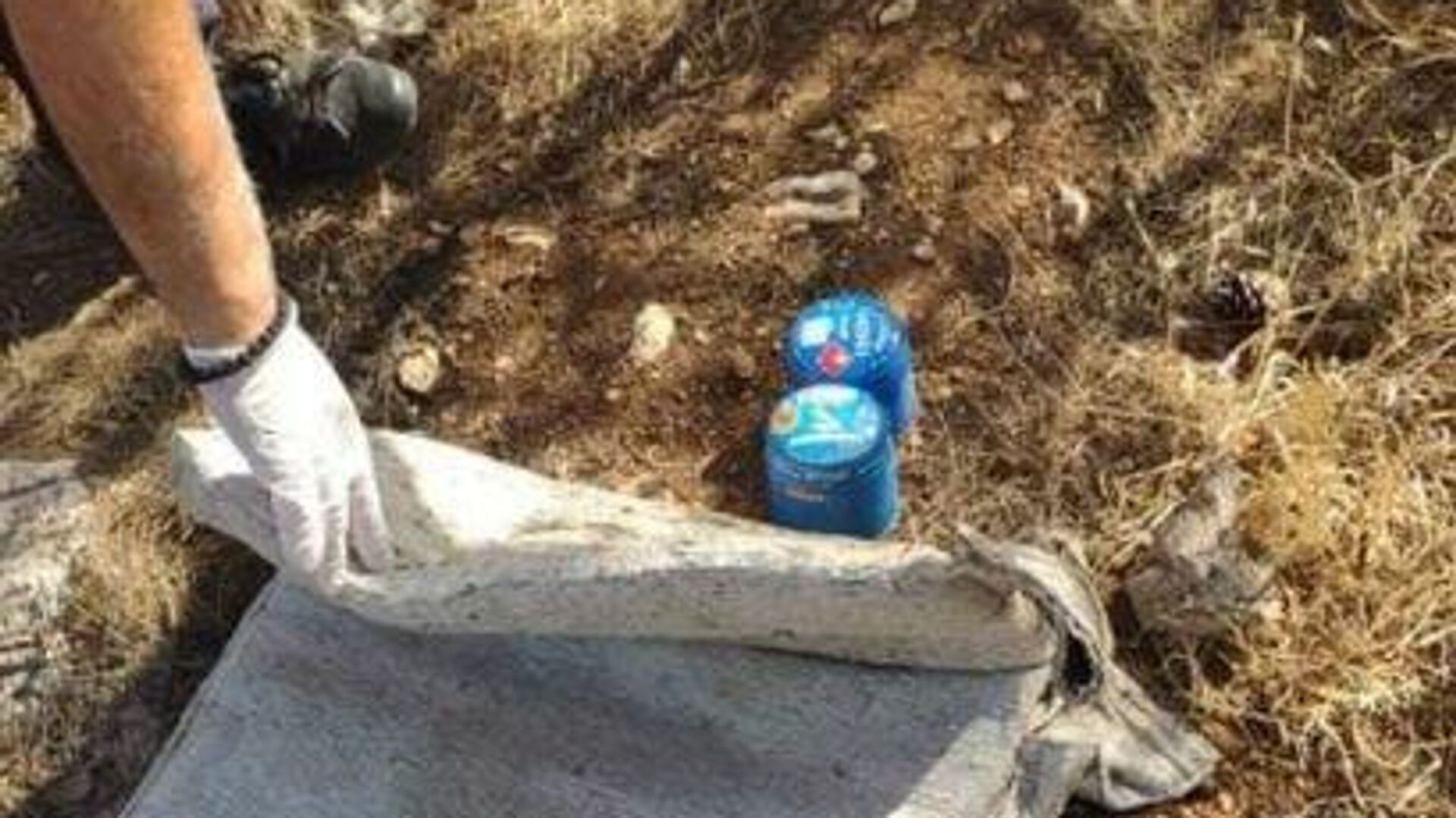 Βρέθηκαν γκαζάκια στο δασάκι της Αργυρούπολης - Sputnik Ελλάδα, 1920, 14.08.2021