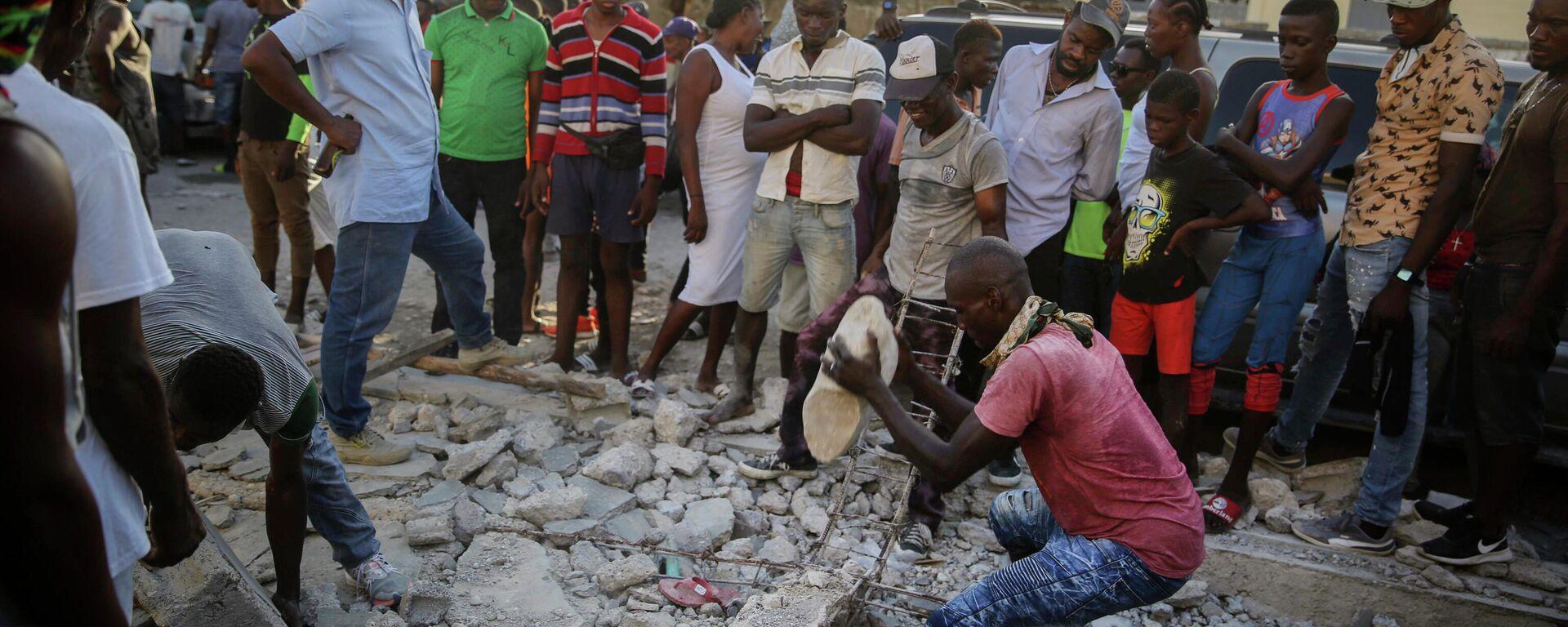 Σεισμός στην Αϊτή - Sputnik Ελλάδα, 1920, 20.09.2021