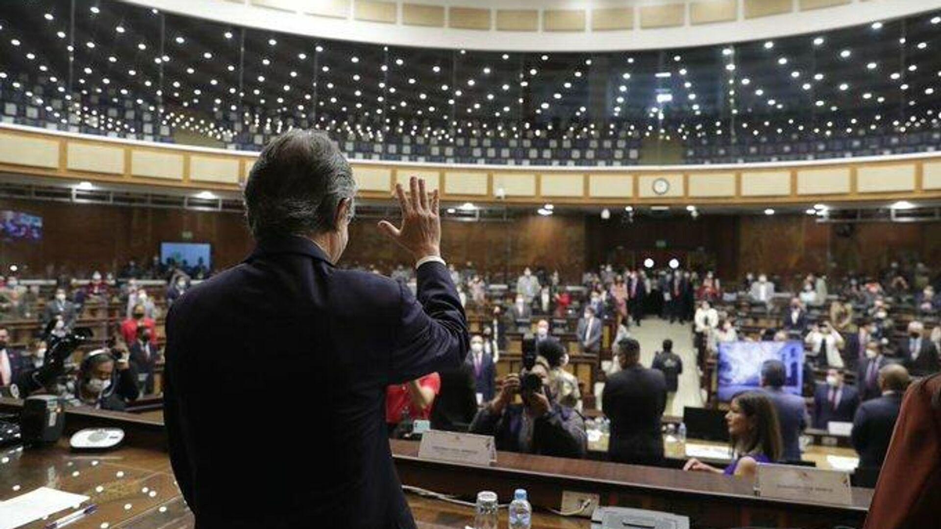 Ο Γκιγιέρμο Λάσο στο κοινοβούλιο - Sputnik Ελλάδα, 1920, 17.08.2021