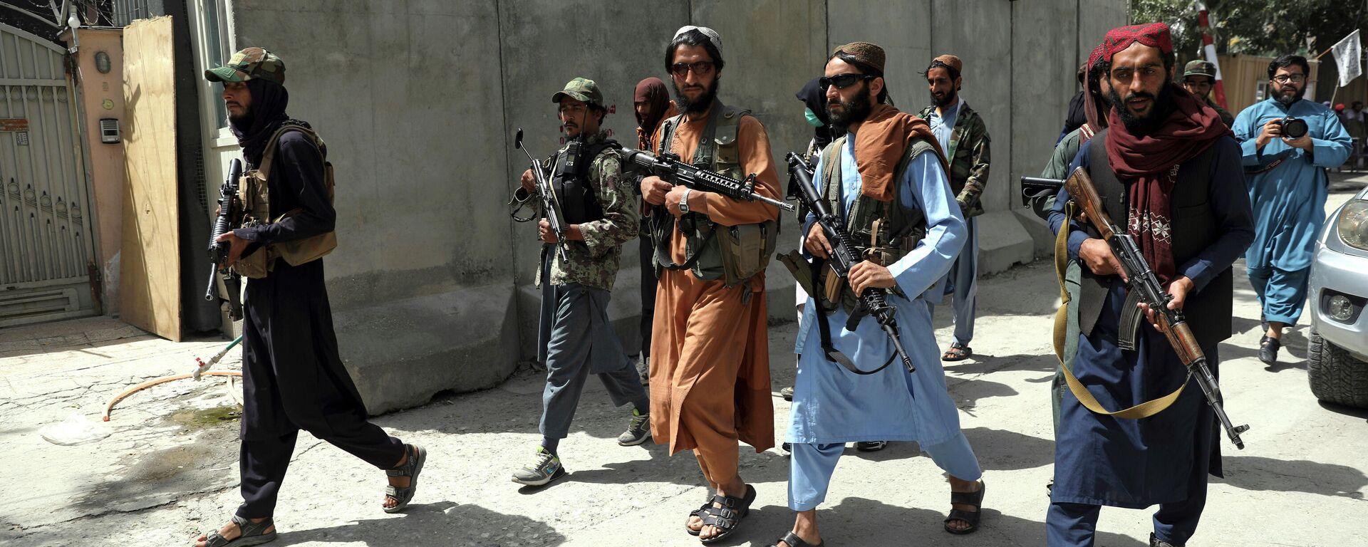 Ταλιμπάν στους δρόμους της Καμπούλ στο Αφγανιστάν - Sputnik Ελλάδα, 1920, 06.09.2021