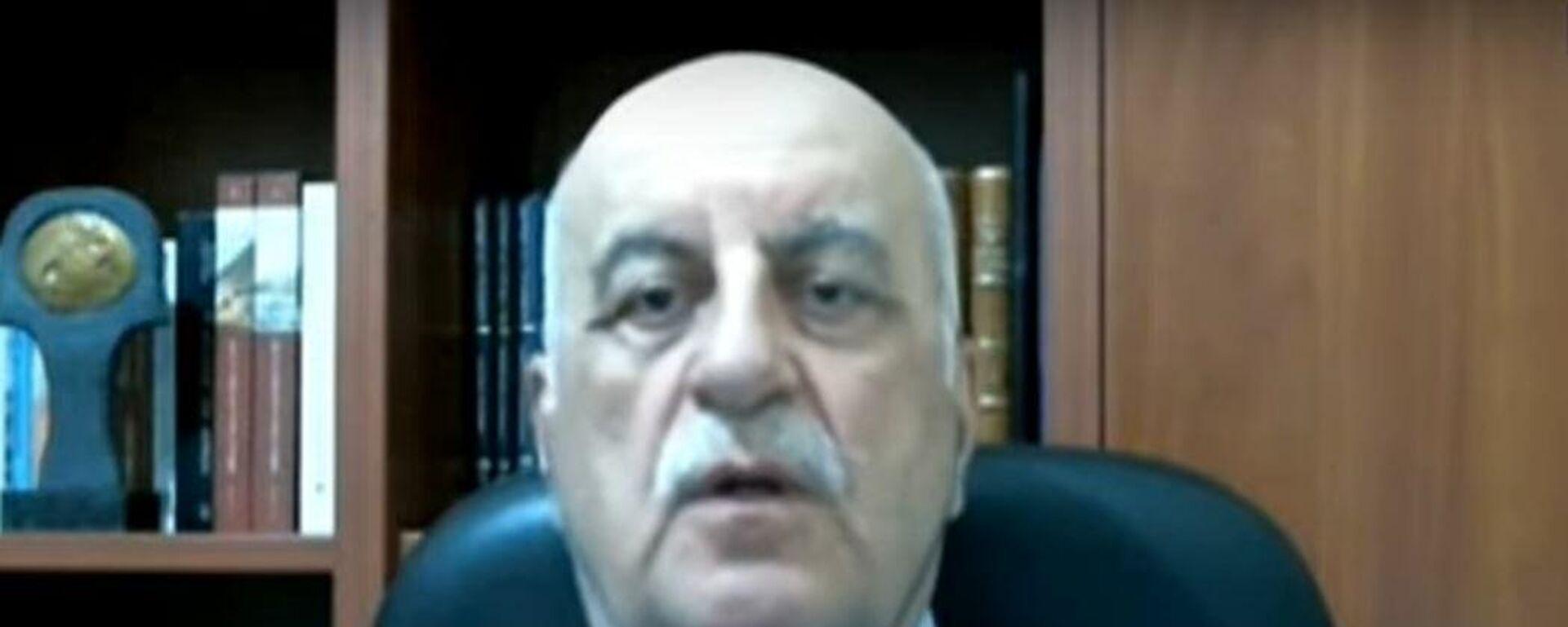 Ο καθηγητής Πνευμονολογίας Νίκος Τζανάκης - Sputnik Ελλάδα, 1920, 08.09.2021