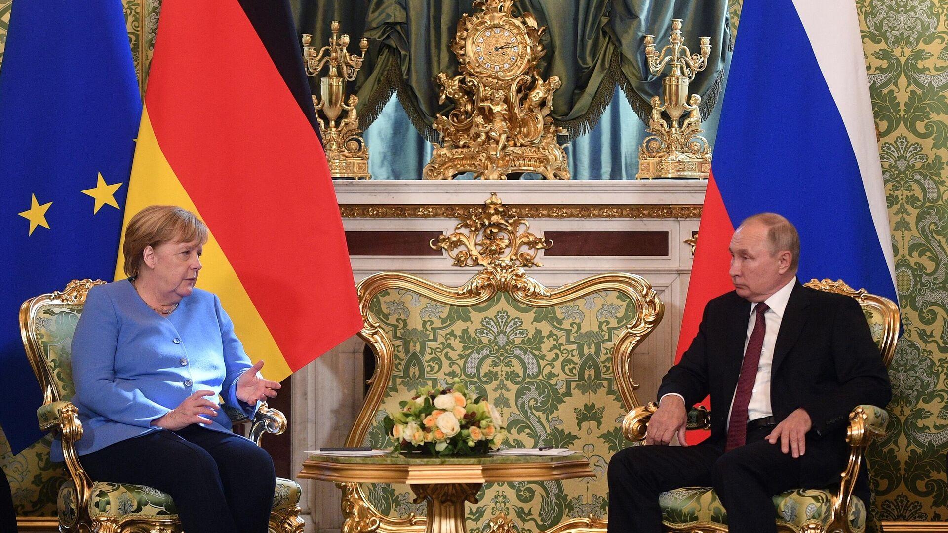 Βλαντίμιρ Πούτιν και Άνγκελα Μέρκελ - Sputnik Ελλάδα, 1920, 20.08.2021