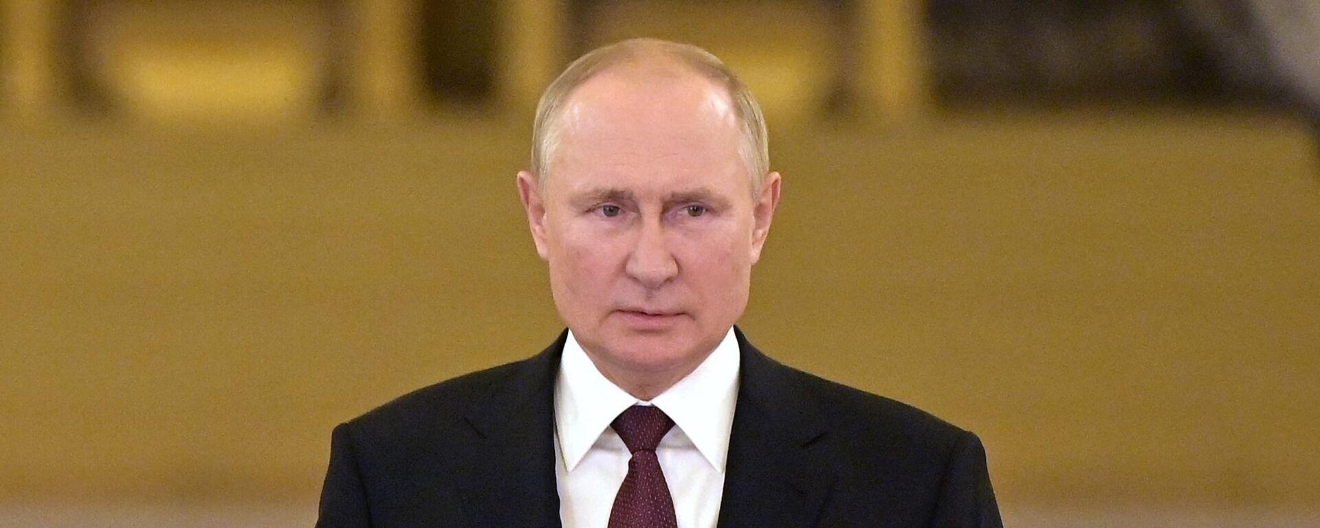 O Βλαντίμιρ Πούτιν μετά τη συνάντηση με Μέρκελ - Sputnik Ελλάδα, 1920, 16.09.2021