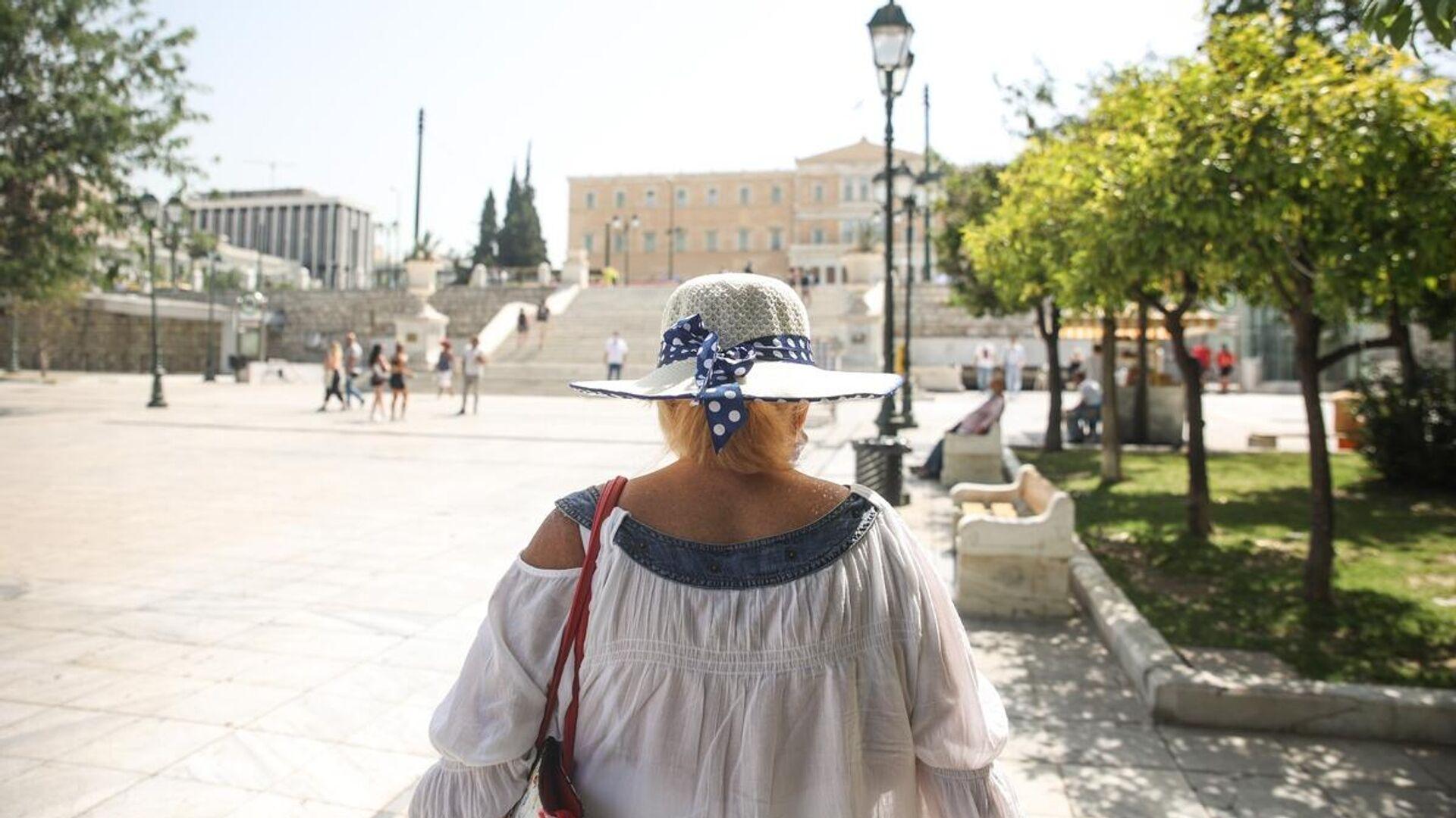 Καύσωνας στην Αθήνα - Sputnik Ελλάδα, 1920, 13.09.2021