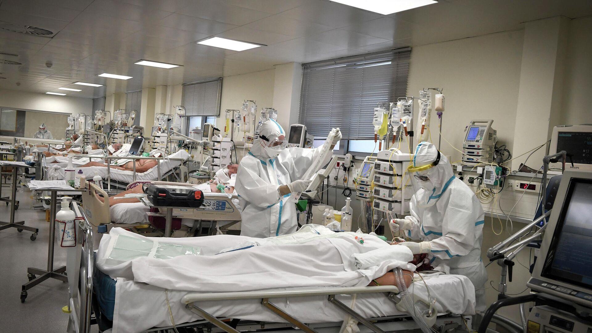 Νοσοκομείο - Sputnik Ελλάδα, 1920, 14.09.2021
