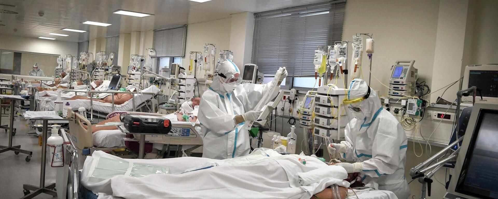 Νοσοκομείο - Sputnik Ελλάδα, 1920, 17.09.2021