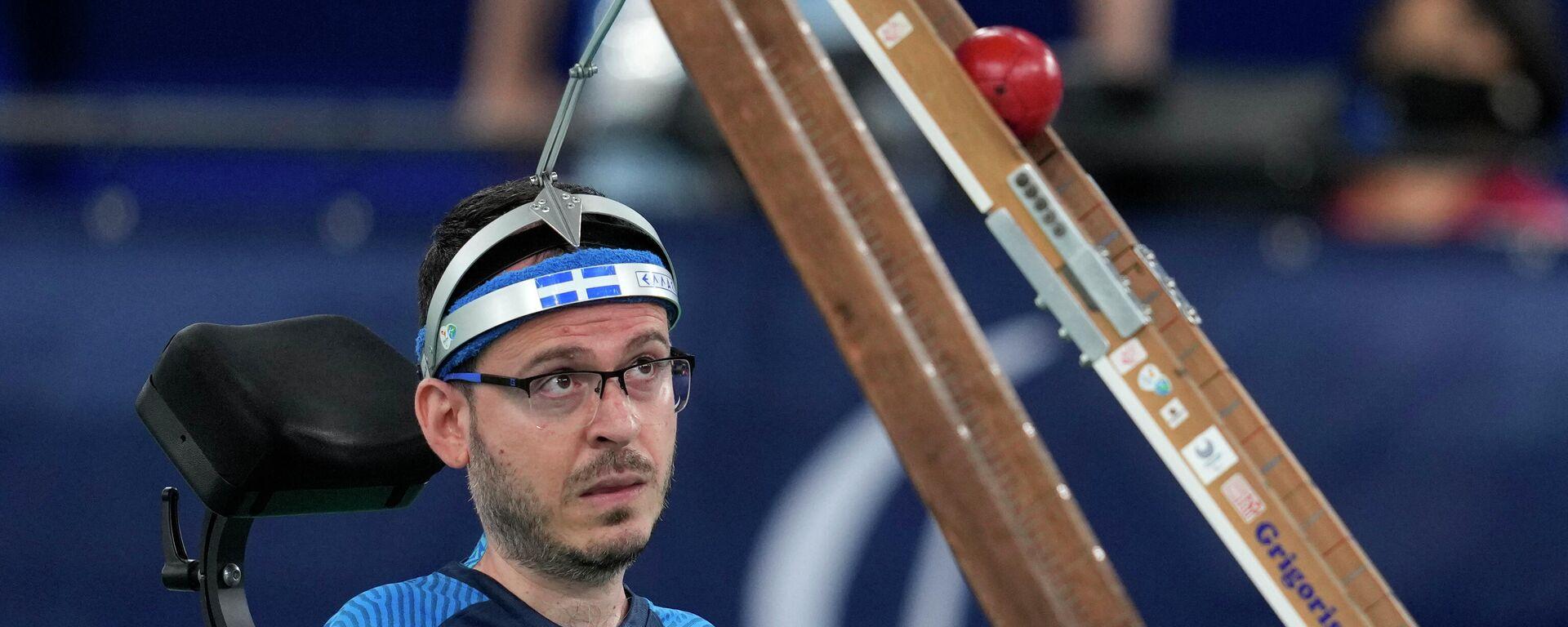 Ο Γρηγόρης Πολυχρονίδης στους Παραολυμπιακούς του Τόκιο - Sputnik Ελλάδα, 1920, 10.09.2021