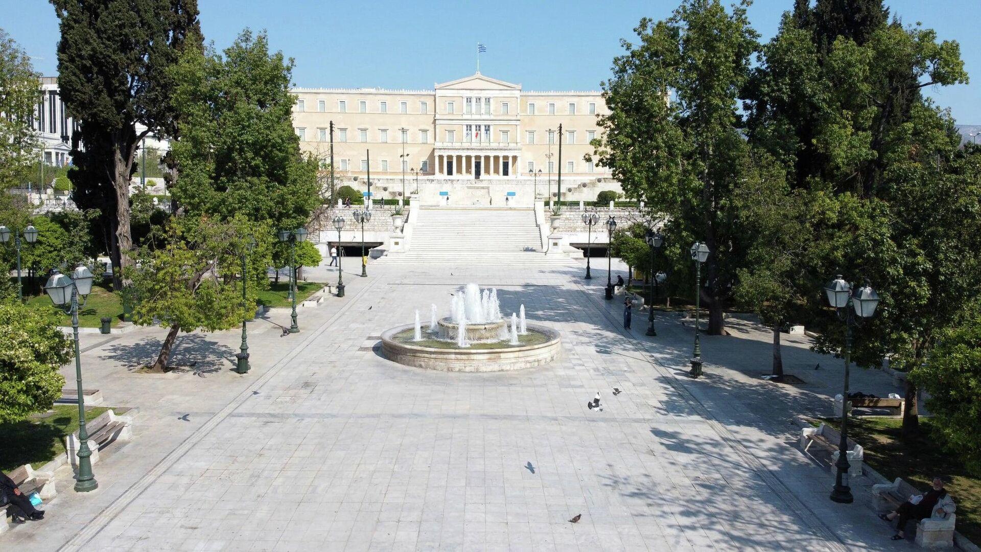 Άποψη από την Πλατεία Συντάγματος - Sputnik Ελλάδα, 1920, 07.09.2021