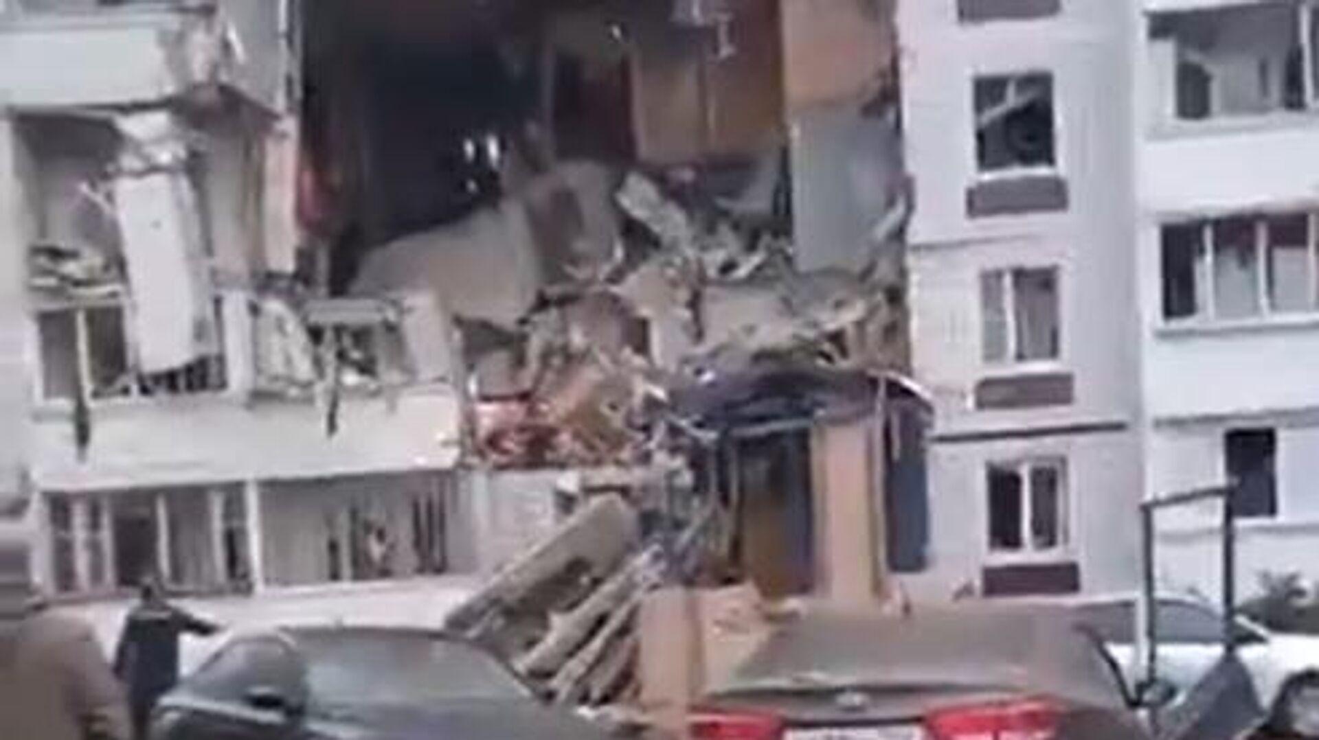 Έκρηξη φυσικού αερίου σε κτίριο στη Μόσχα - Sputnik Ελλάδα, 1920, 08.09.2021