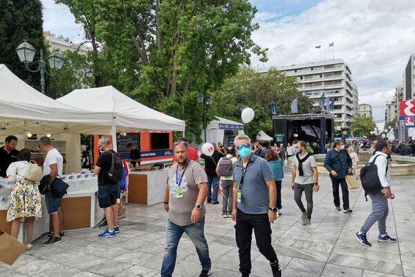 Η πλατεία Συντάγματος υποδέχεται το Ράλι Ακρόπολις - Sputnik Ελλάδα