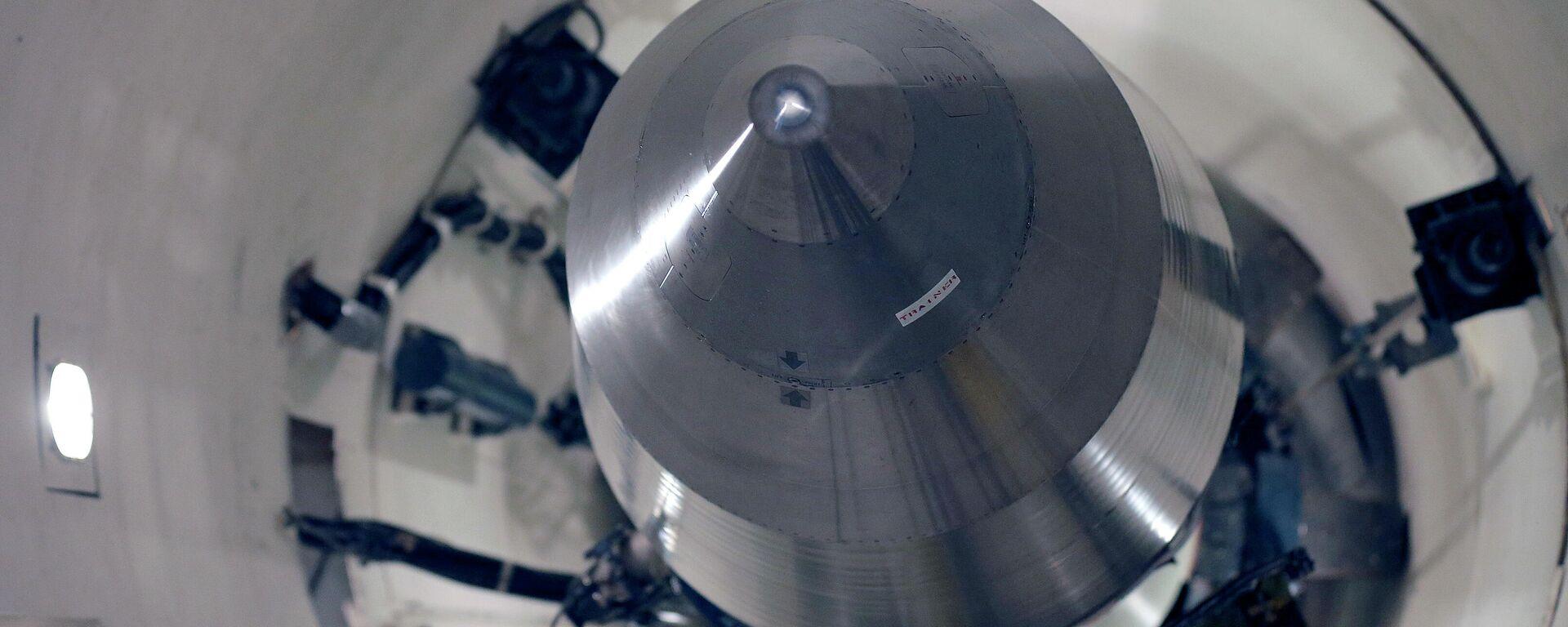 Αδρανής πύραυλος Minuteman 3 στην αεροπορική βάση Minot ND. - Sputnik Ελλάδα, 1920, 10.09.2021