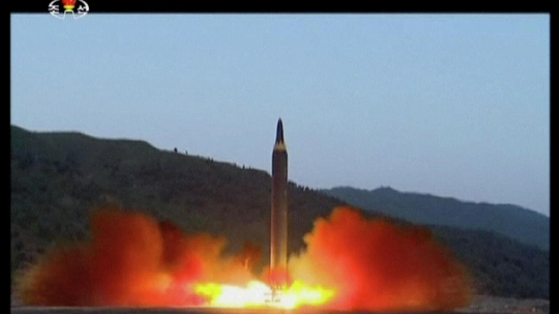 Η Βόρεια Κορέα Προχώρησε σε δοκιμαστικές εκτοξεύσεις πυραύλων κρουζ μεγάλου βεληνεκούς - Sputnik Ελλάδα, 1920, 13.09.2021