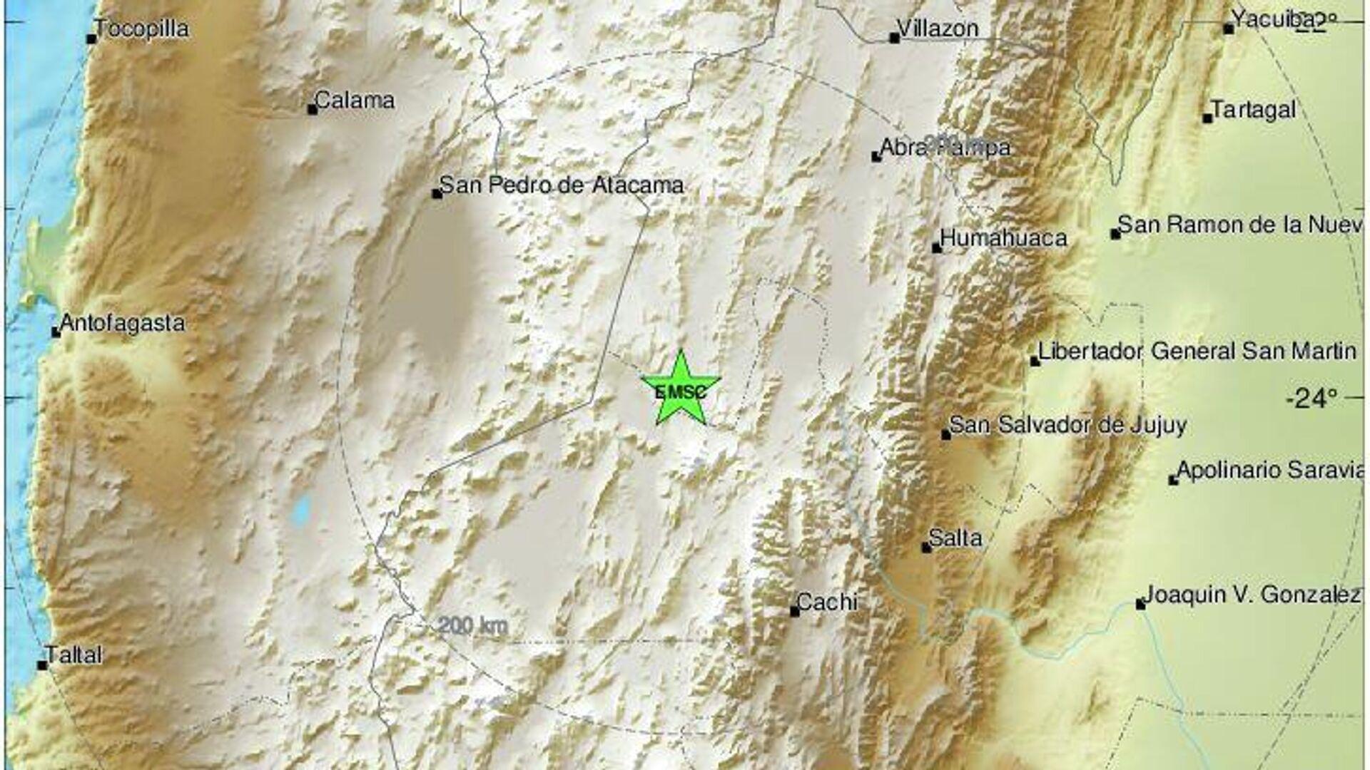 Σεισμός στην Αργεντινή - Sputnik Ελλάδα, 1920, 13.09.2021
