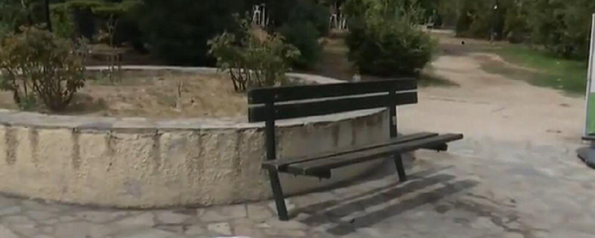 Tο σημείο της επίθεσης με καυστικό υγρό στη Νίκαια - Sputnik Ελλάδα, 1920, 13.09.2021