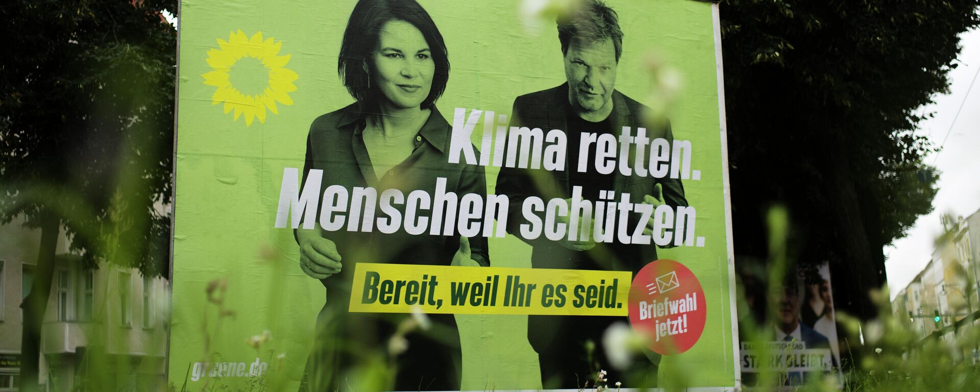 Γερμανικές εκλογές - Αφίσες με μήνυμα Κρεμάστε τους Πράσινους - Sputnik Ελλάδα, 1920, 15.09.2021