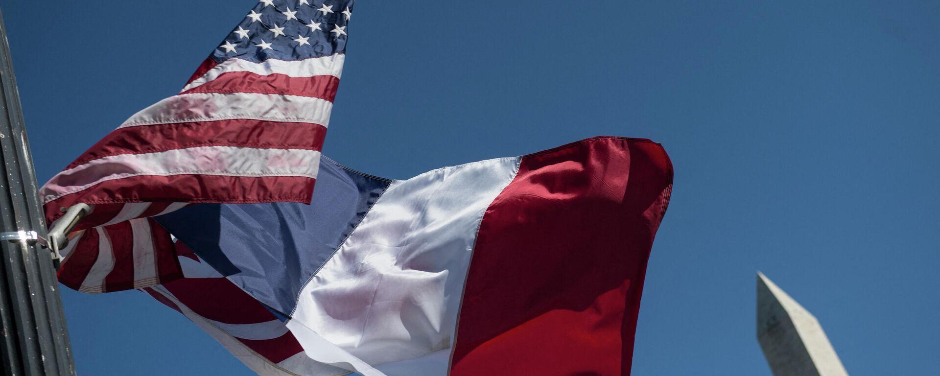 Σημαίες ΗΠΑ - Γαλλία - Sputnik Ελλάδα, 1920, 17.09.2021