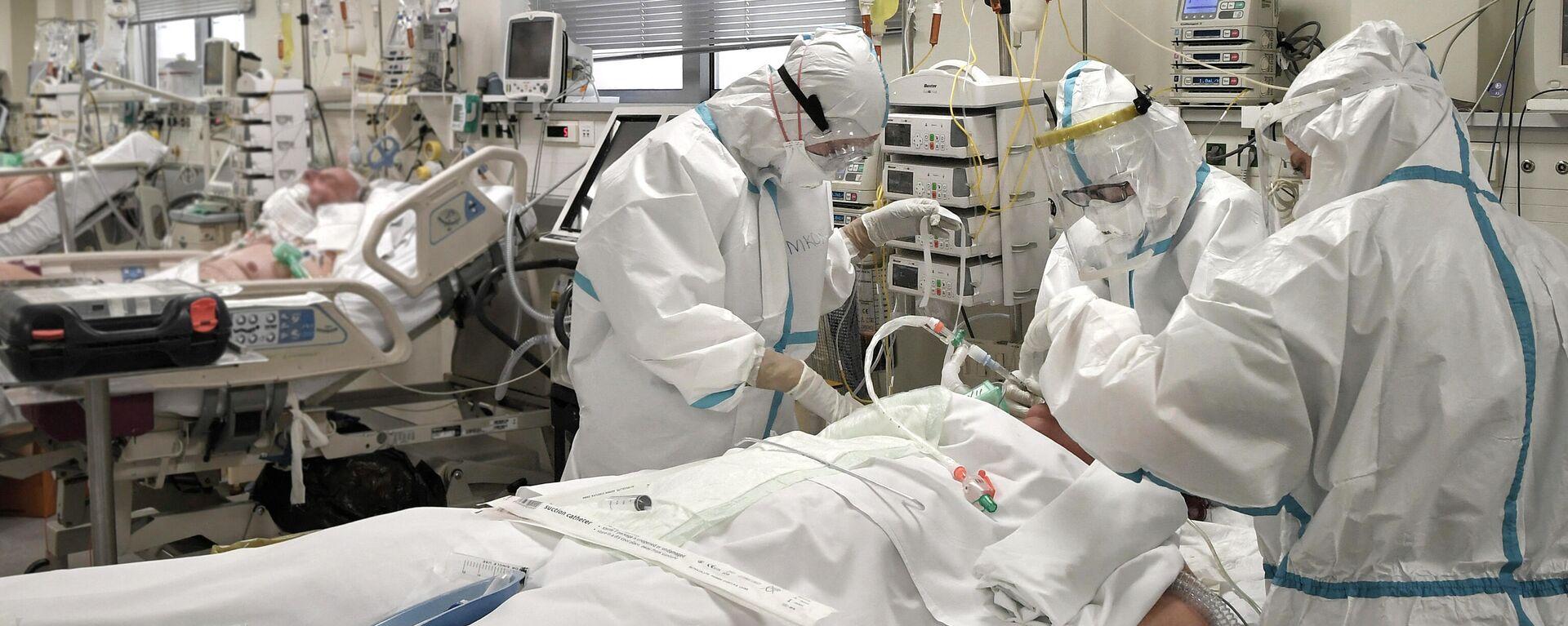 Νοσοκομείο στην Ελλάδα - Sputnik Ελλάδα, 1920, 23.09.2021