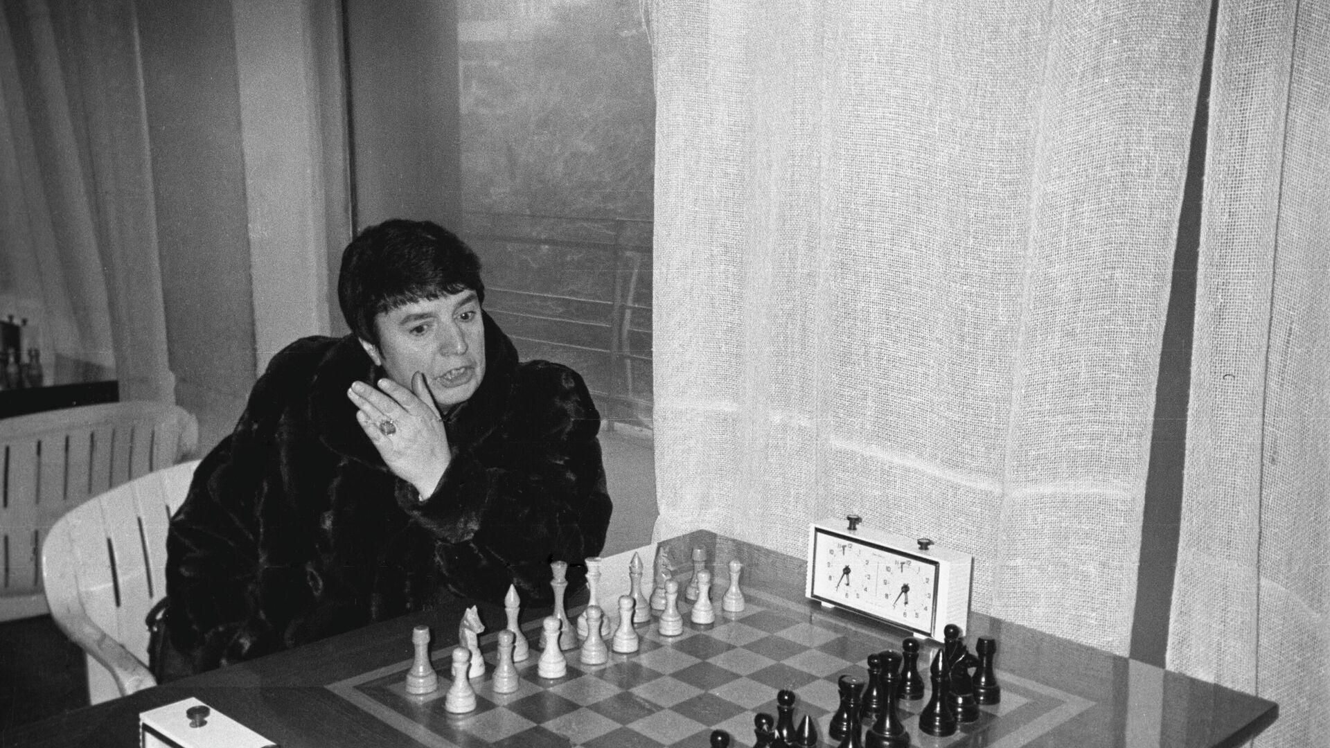 Η εμβληματική σκακίστρια Νόνα Γκαπριντασβίλι - Sputnik Ελλάδα, 1920, 17.09.2021
