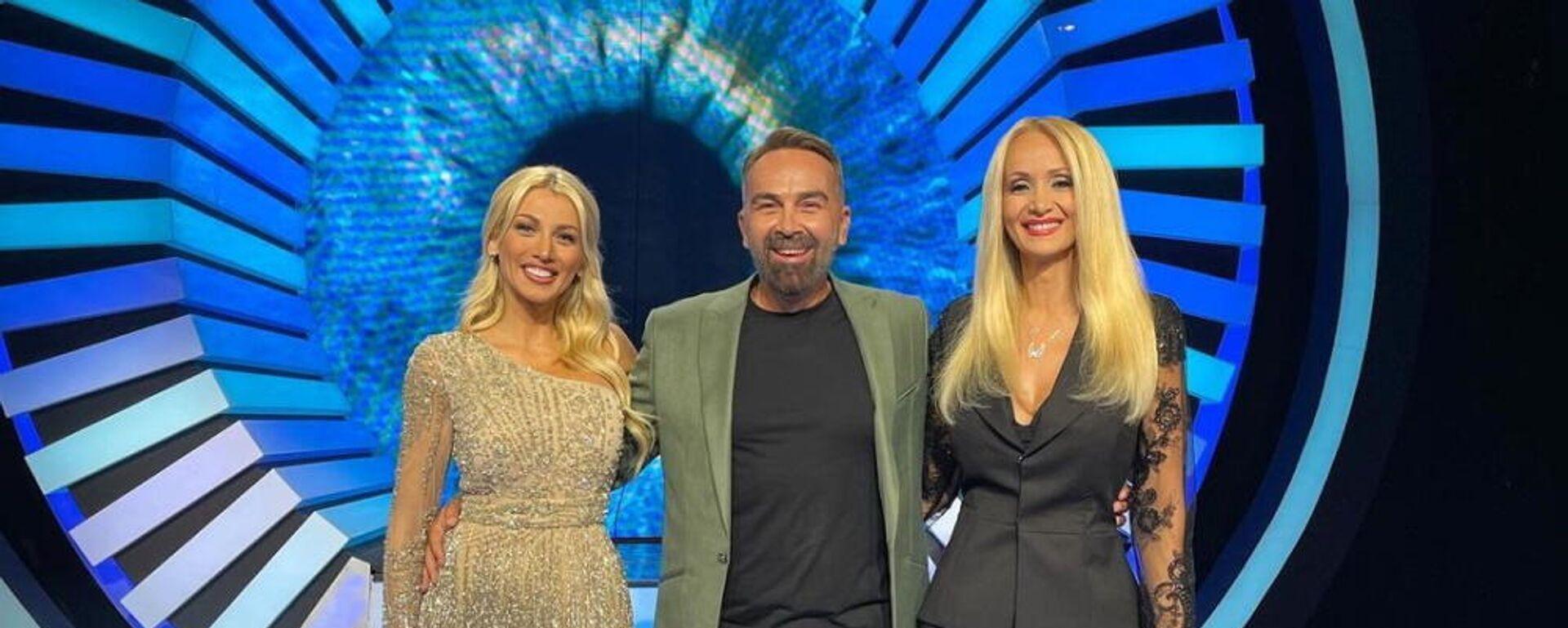 Η Κωνσταντίνα Σπυροπούλου, ο Γρηγόρης Γκουντάρας και η Ναταλί Κάκκαβα στο Big Brother 2 (ΣΚΑΪ), 17 Σεπτεμβρίου 2021 - Sputnik Ελλάδα, 1920, 18.09.2021