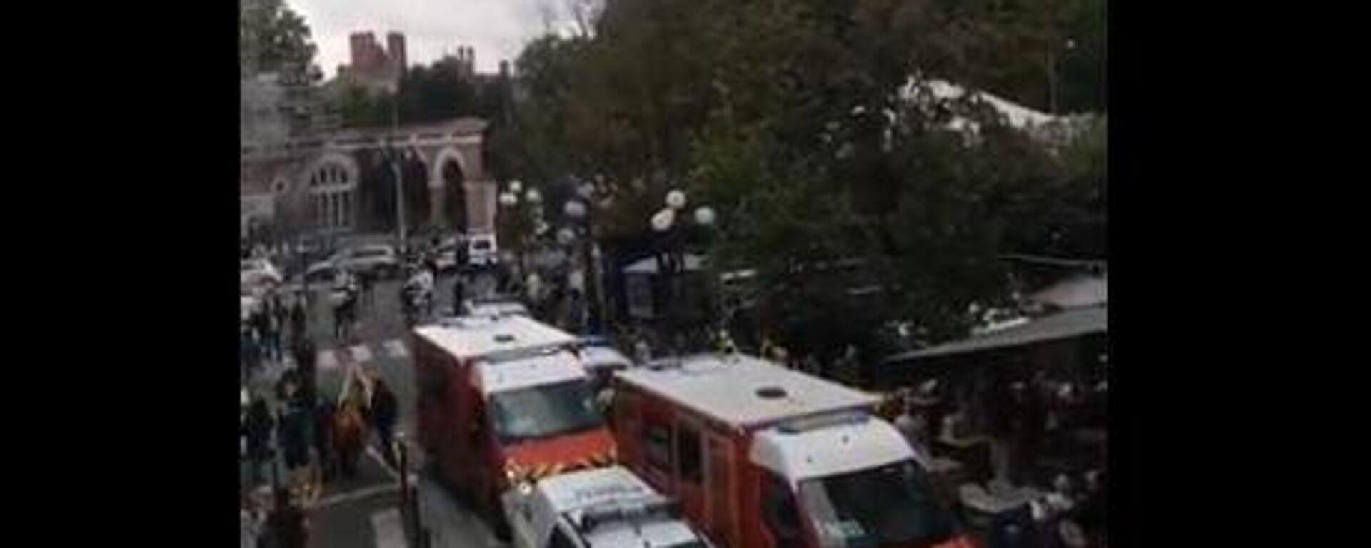 Αυτοκίνητο χτύπησε πολίτες στο Φονταινεμπλώ της Γαλλίας - Sputnik Ελλάδα, 1920, 18.09.2021