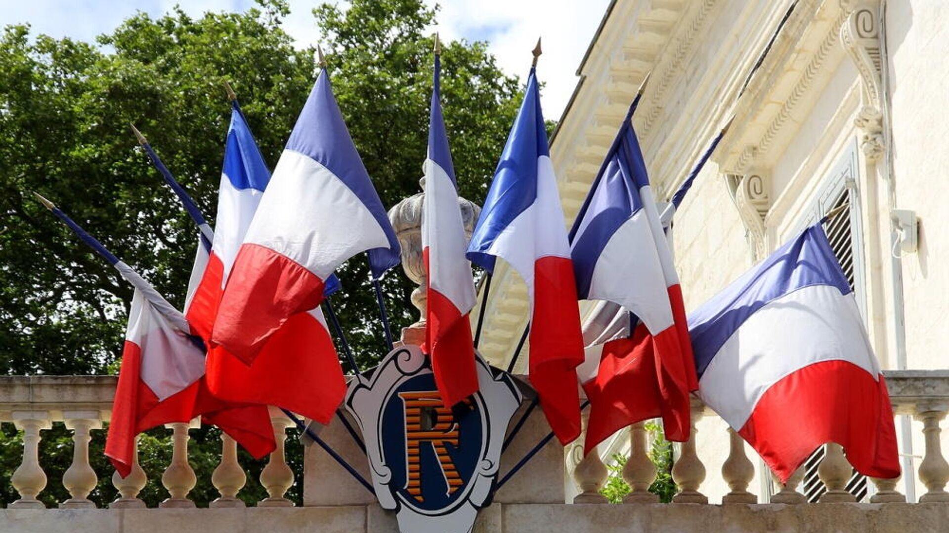 Σημαίες της Γαλλίας - Sputnik Ελλάδα, 1920, 18.09.2021