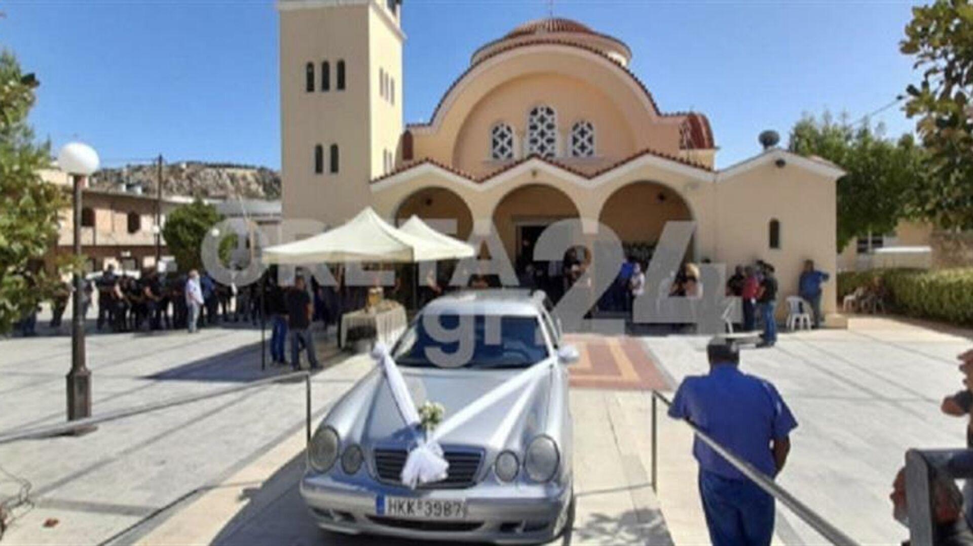 Στιγμιότυπο από την κηδεία του 17χρονου - Sputnik Ελλάδα, 1920, 21.09.2021