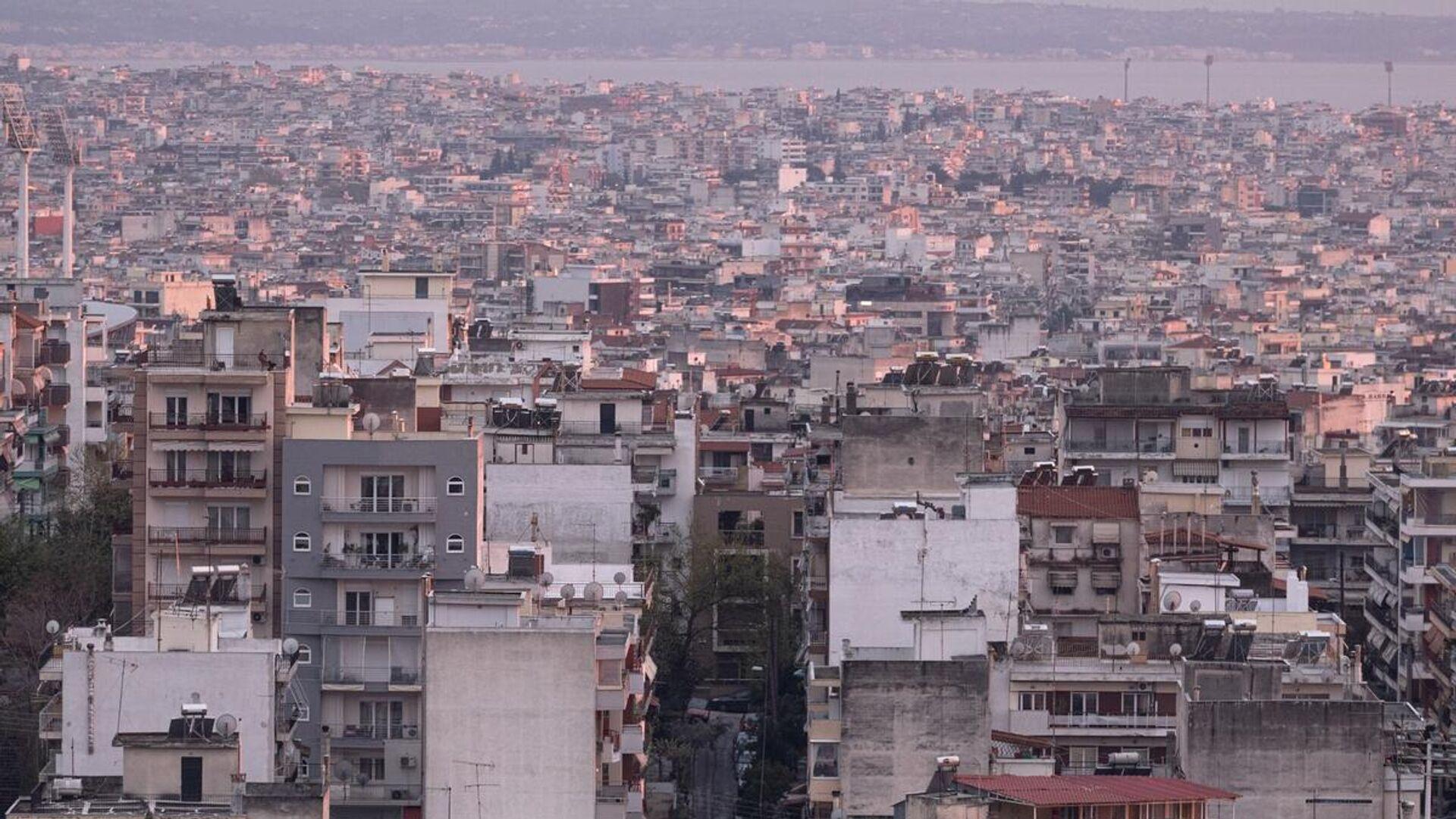 Κτίρια στη Θεσσαλονίκη - Sputnik Ελλάδα, 1920, 22.09.2021