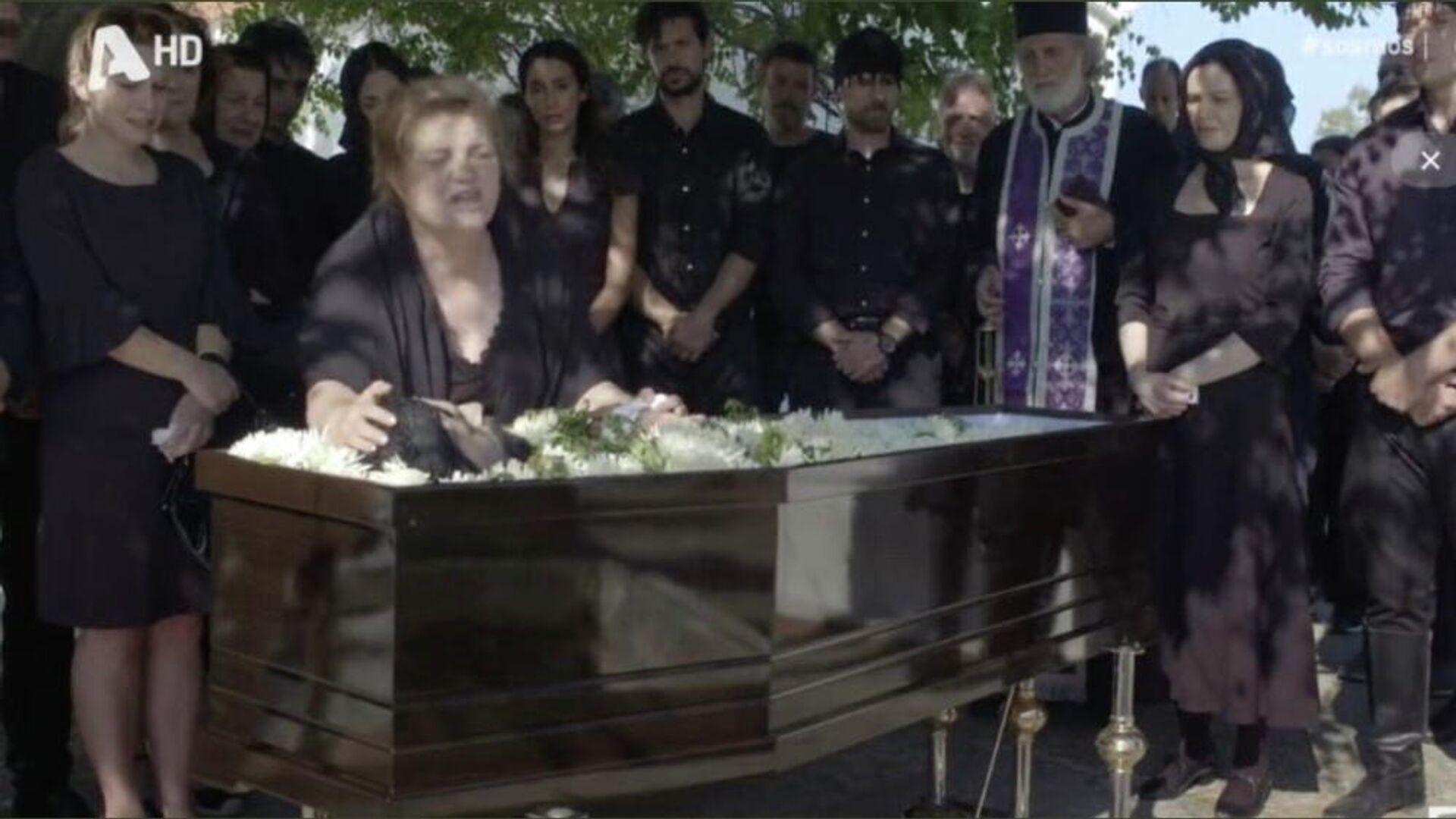 Σκηνή από την τηλεοπτική σειρά Σασμός (ALPHA), 22 Σεπτεμβρίου 2021 - Sputnik Ελλάδα, 1920, 22.09.2021
